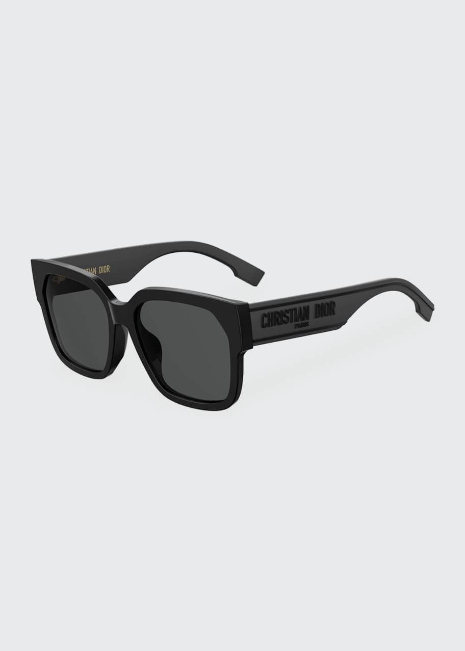 DiorID1 Square Acetate Sunglasses w/ Tonal Logo Arms luxury wishlist