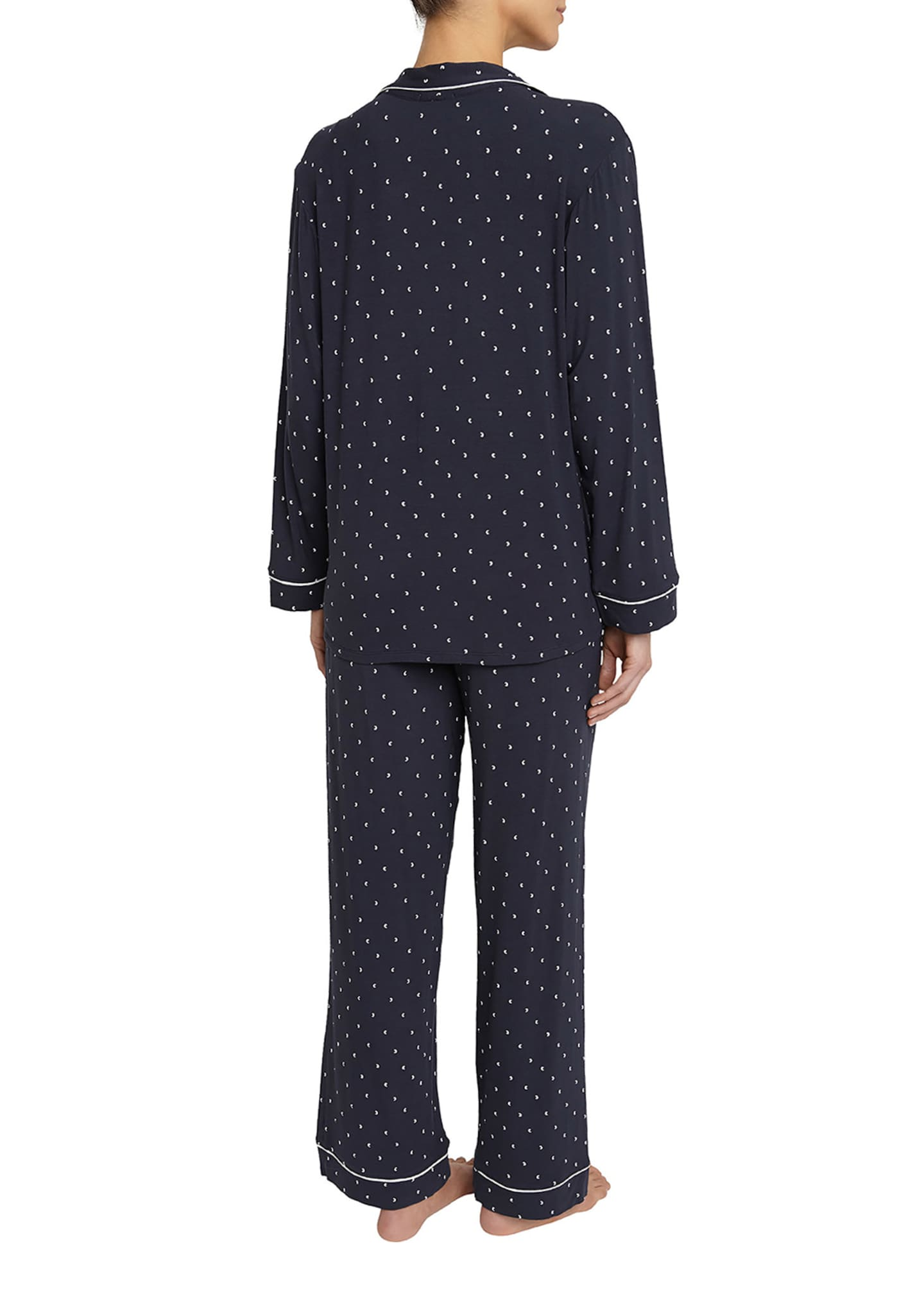 Image 2 of 2: Sleep Chic Printed Pajama Set