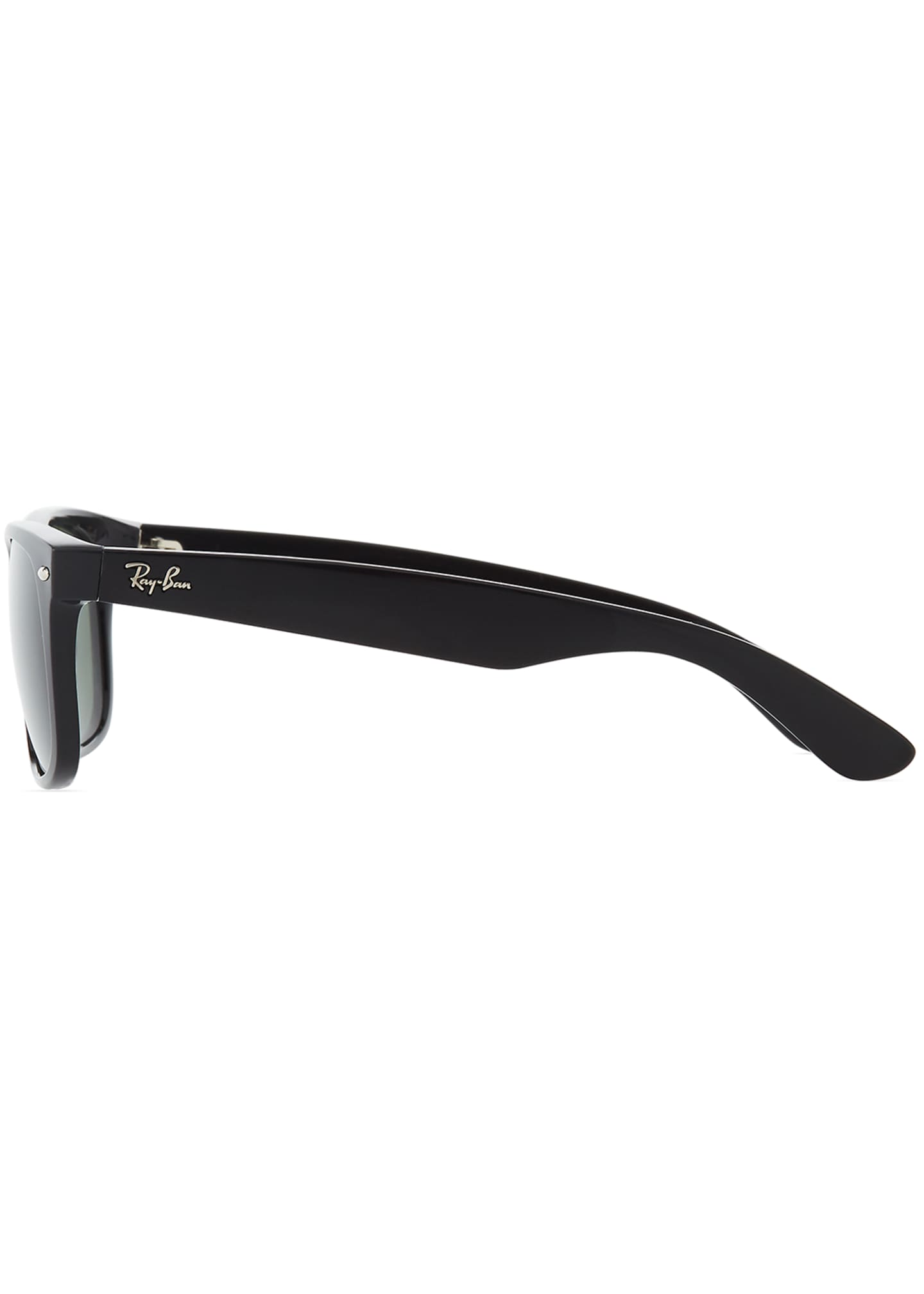 Image 3 of 3: Men's New Wayfarer 58mm Flat-Top Plastic Sunglasses