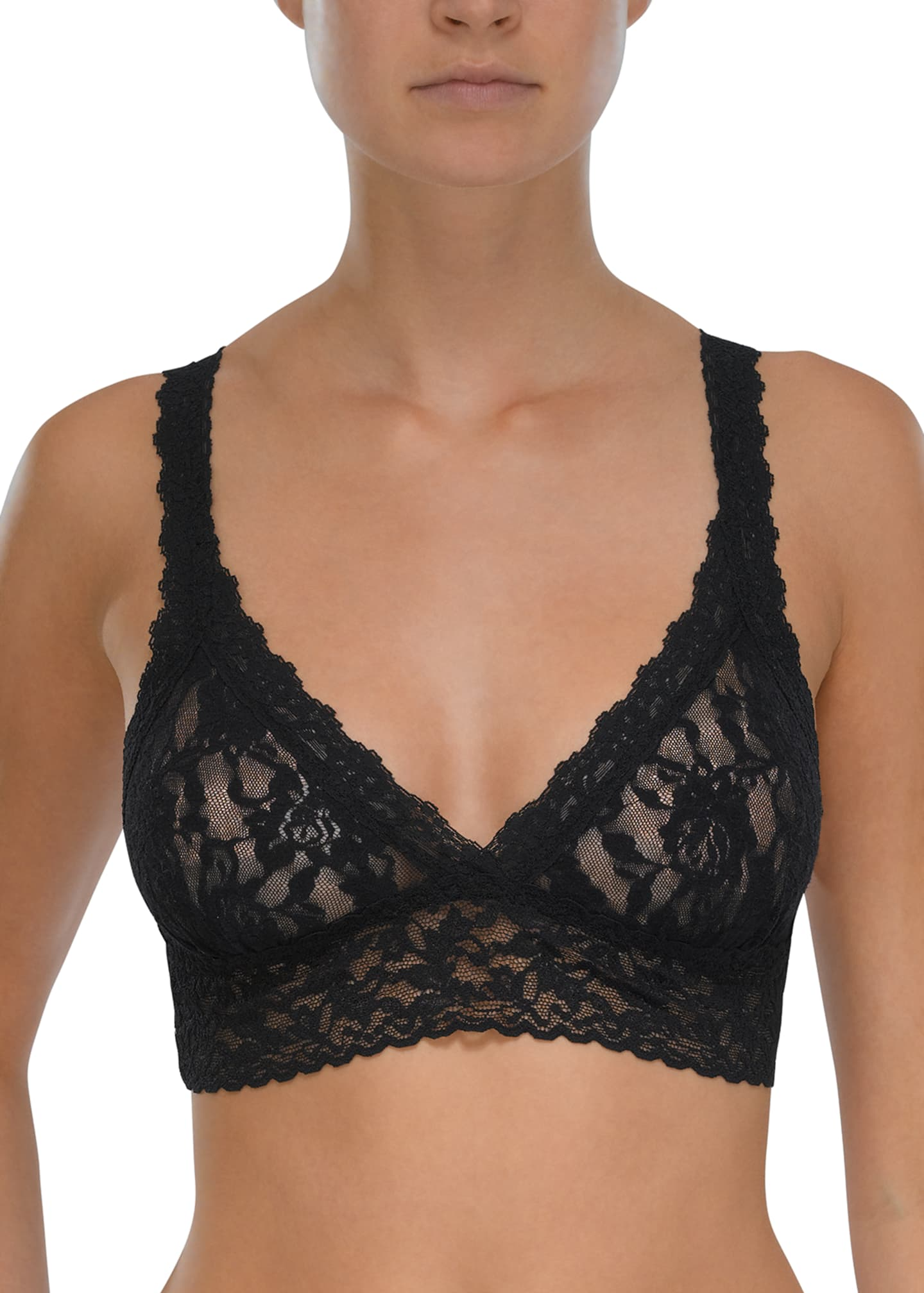 Image 1 of 2: Signature Lace Bralette