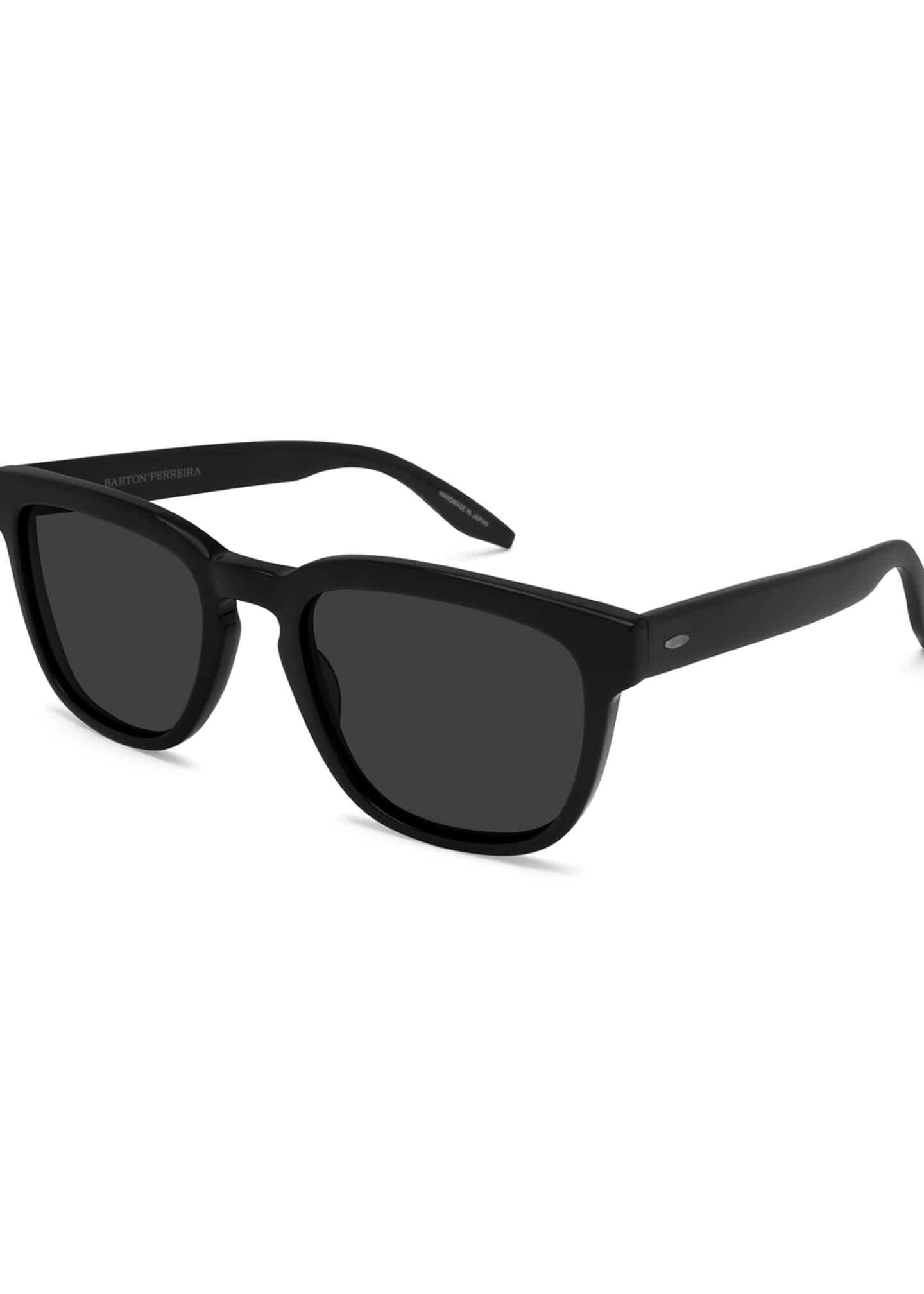 Barton Perreira Coltrane Rectangular Acetate Sunglasses
