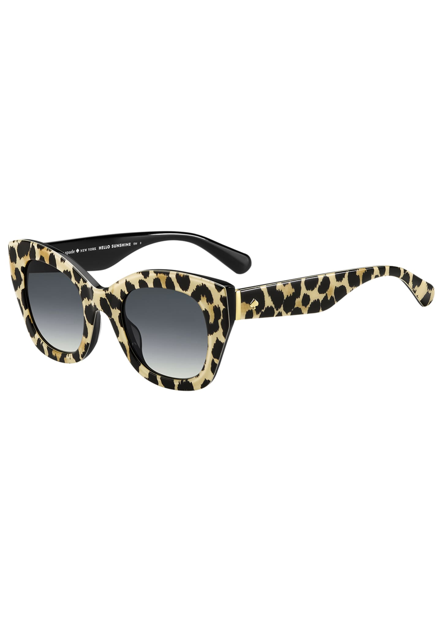 kate spade new york acetate cat-eye sunglasses