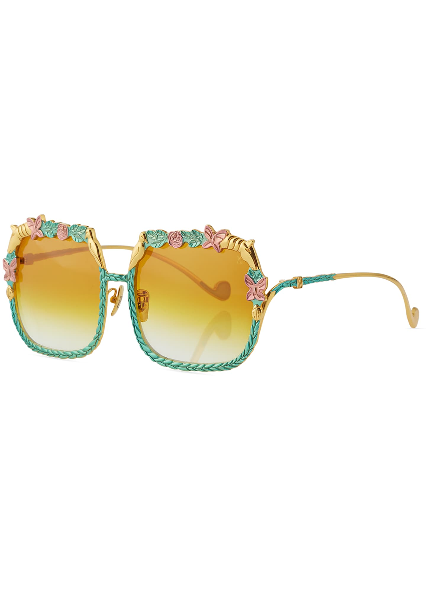 Anna-Karin Karlsson The Garden Square Gradient Sunglasses