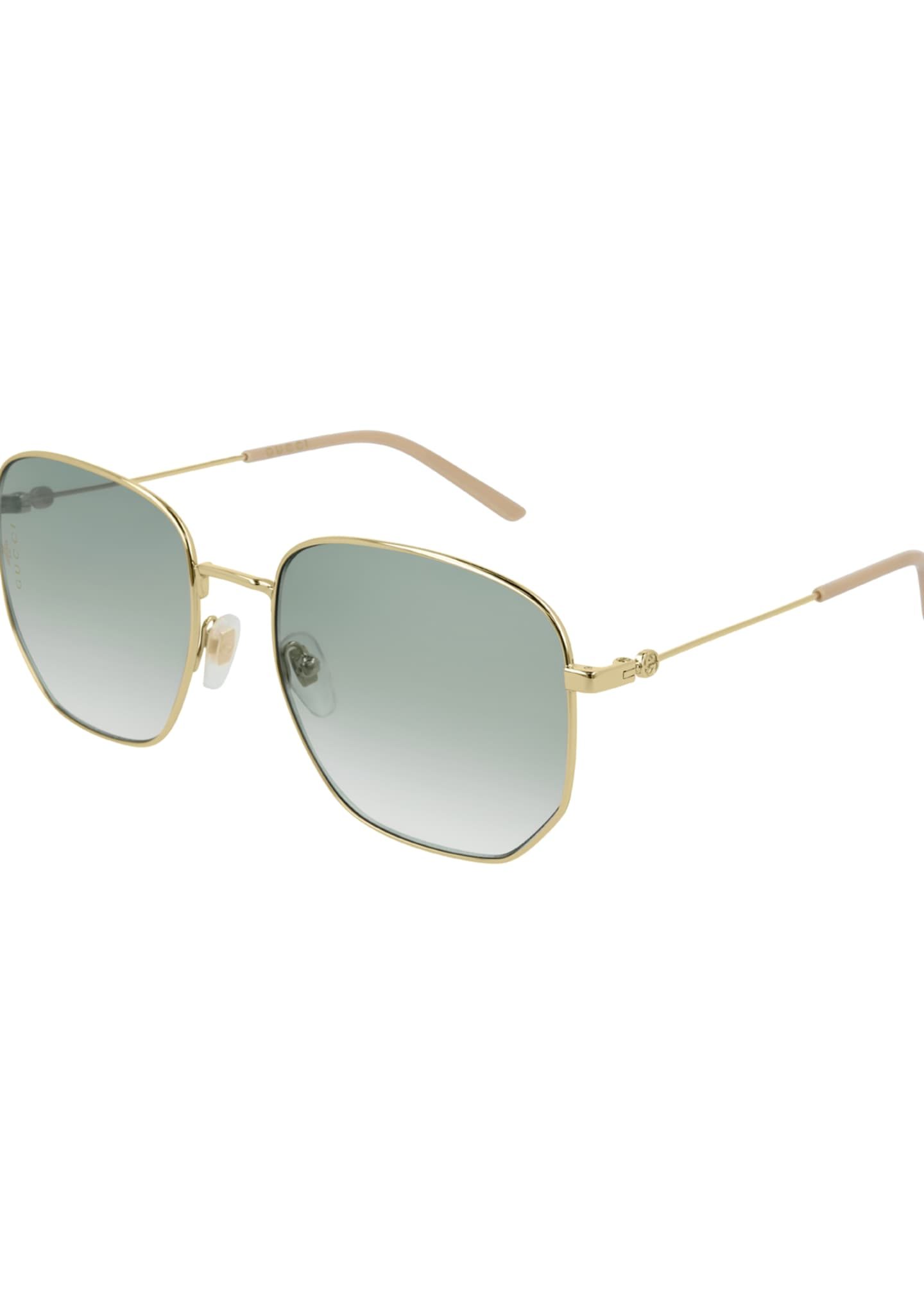 Gucci Men's Squared Gradient Sunglasses