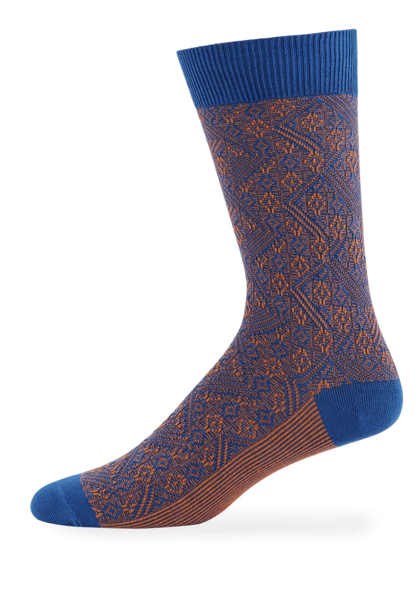 Ace & Everett Men's Baxter Two-Tone Socks