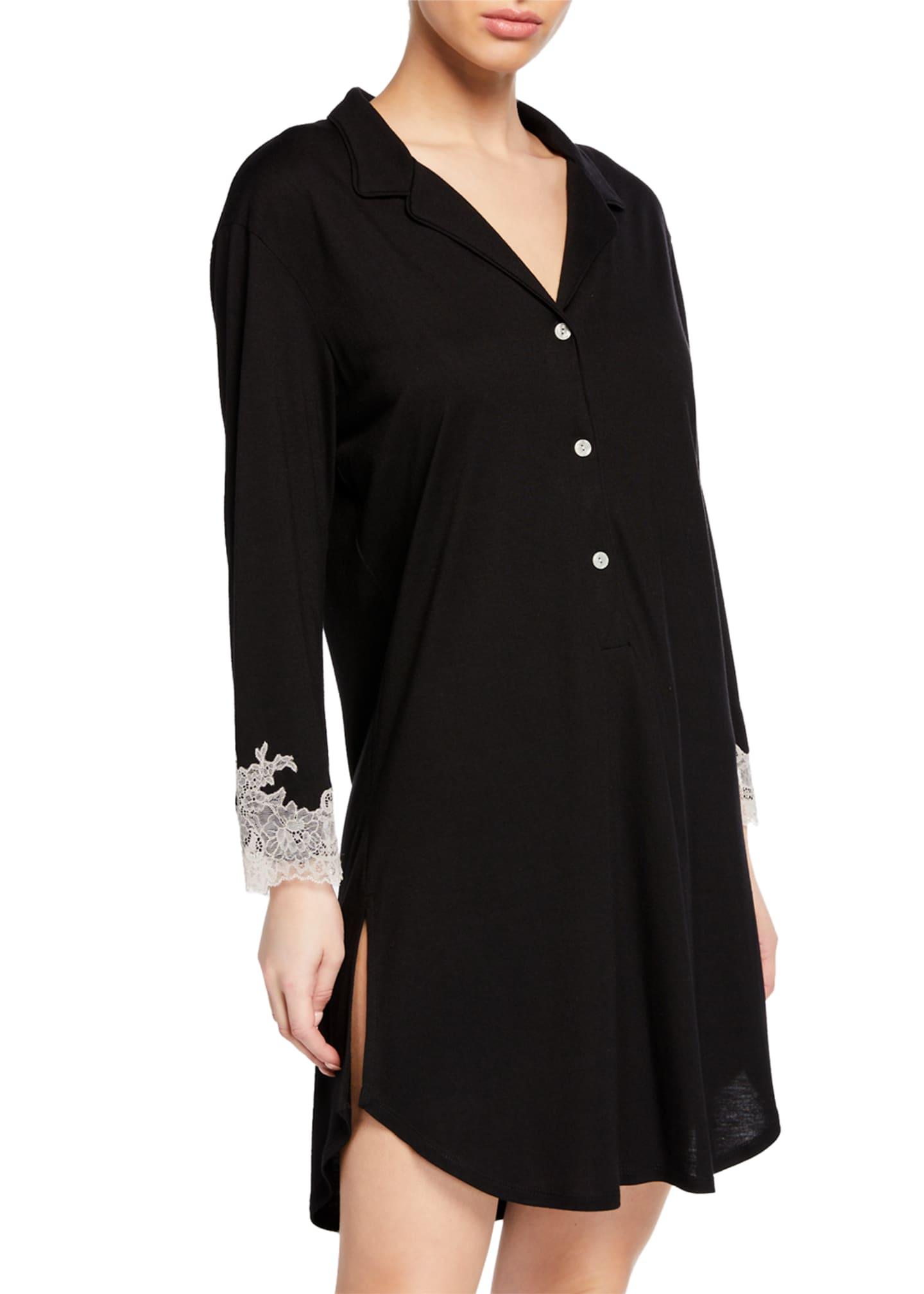 Natori Shangri-La Luxe Knit Sleepshirt