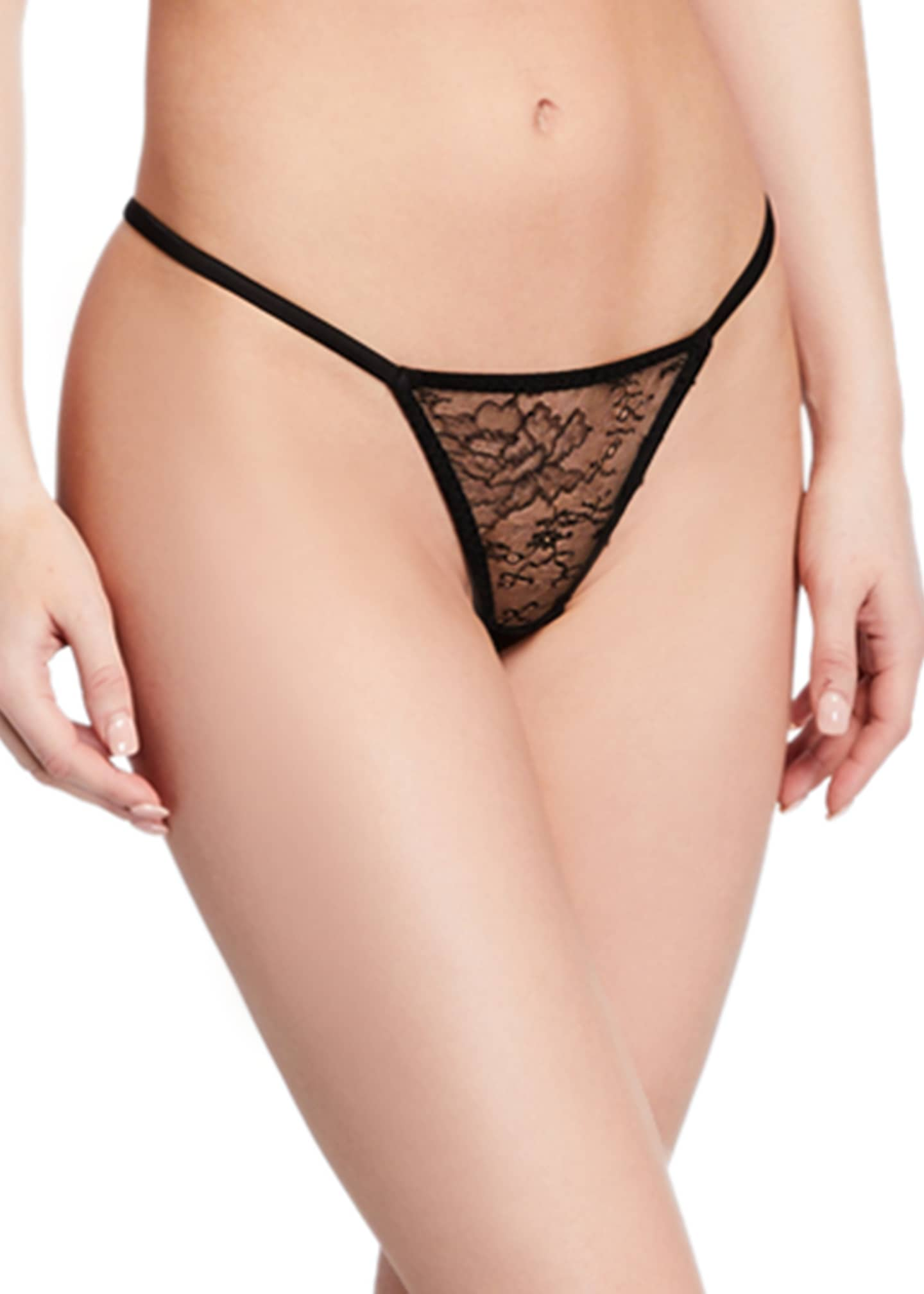 Myla London Darling Row Lace G-String