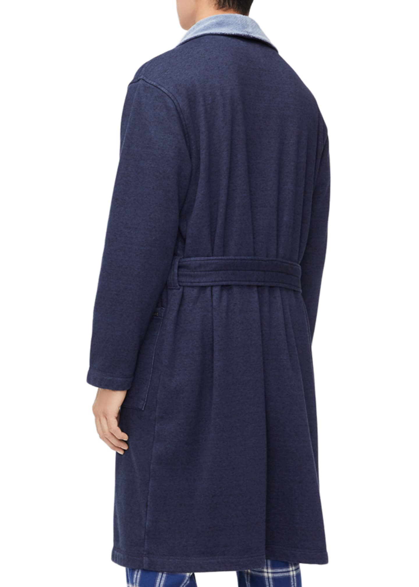 Image 2 of 4: Men's Robinson Two-Tone Robe