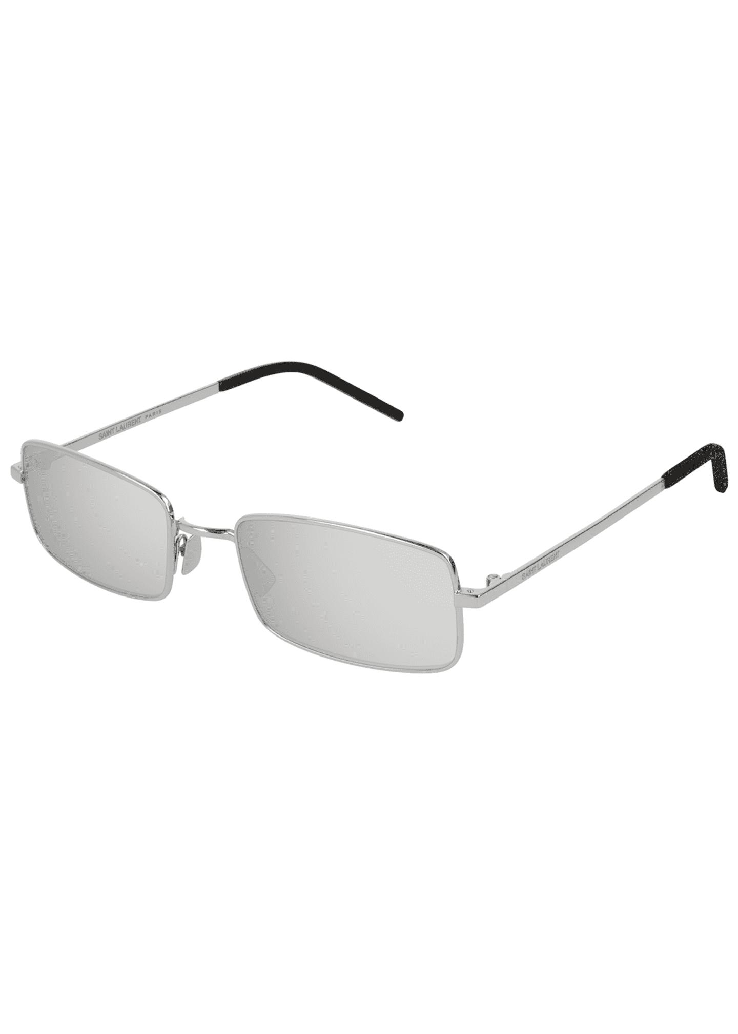 Saint Laurent Slim Rectangle Sunglasses