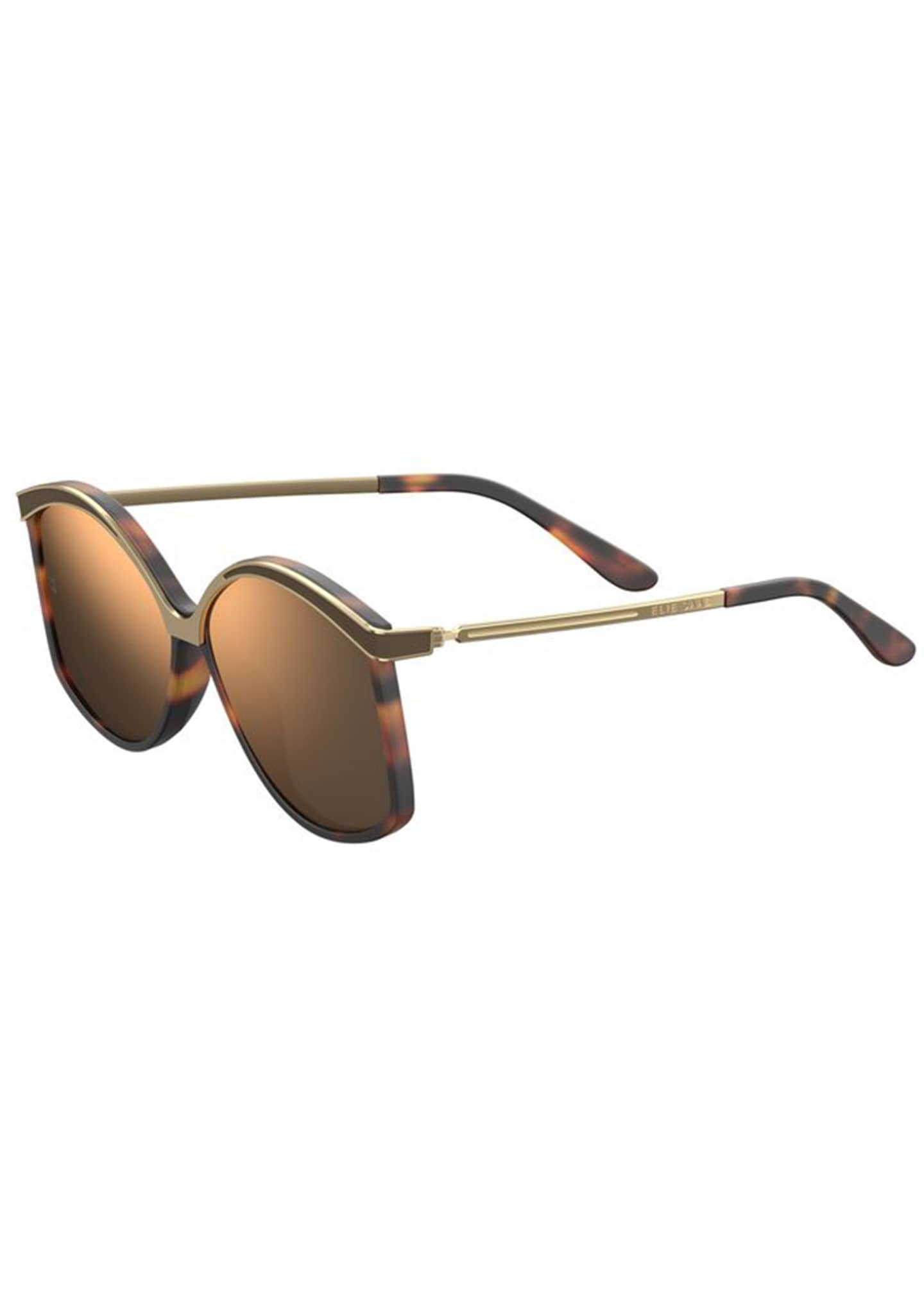 Image 1 of 1: Mirrored Butterfly Sunglasses