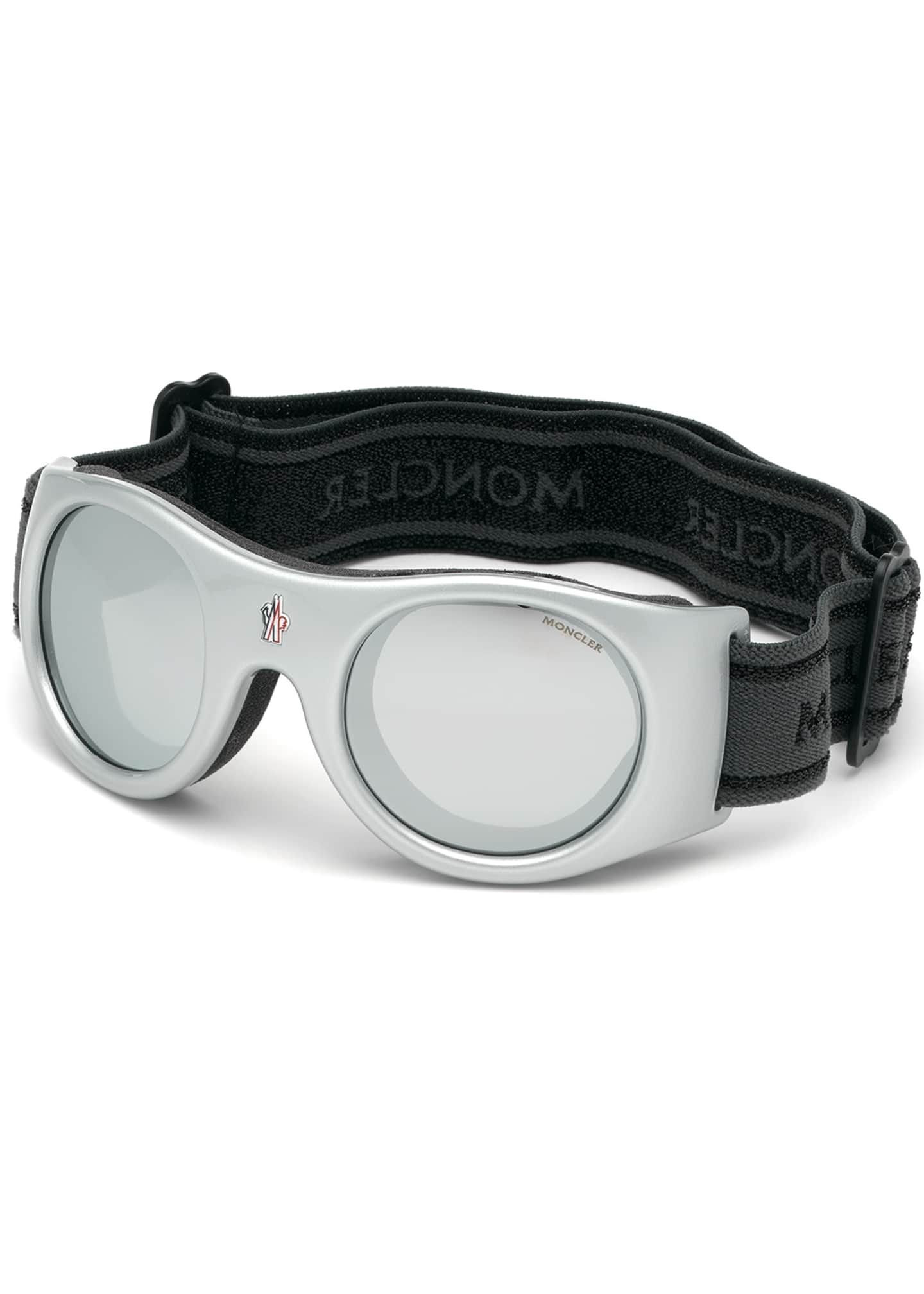 Image 1 of 1: Shield Sunglasses w/ Head Strap