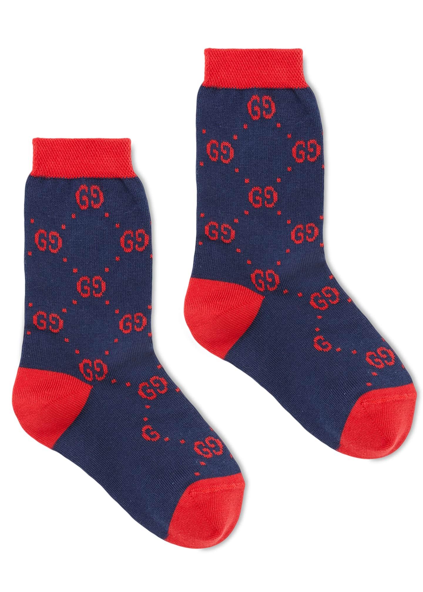 Gucci Kids' Interlocking G Socks