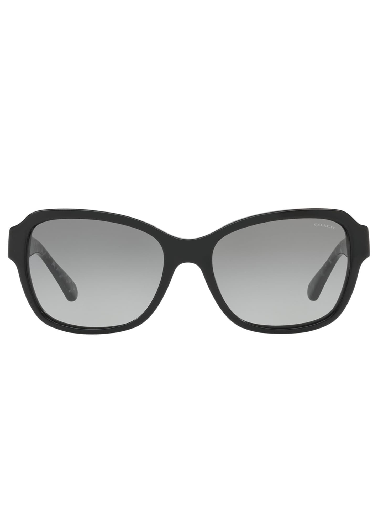 Image 2 of 3: Rectangle Acetate Sunglasses