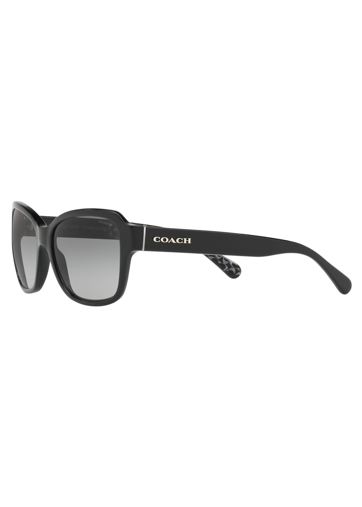 Image 3 of 3: Rectangle Acetate Sunglasses