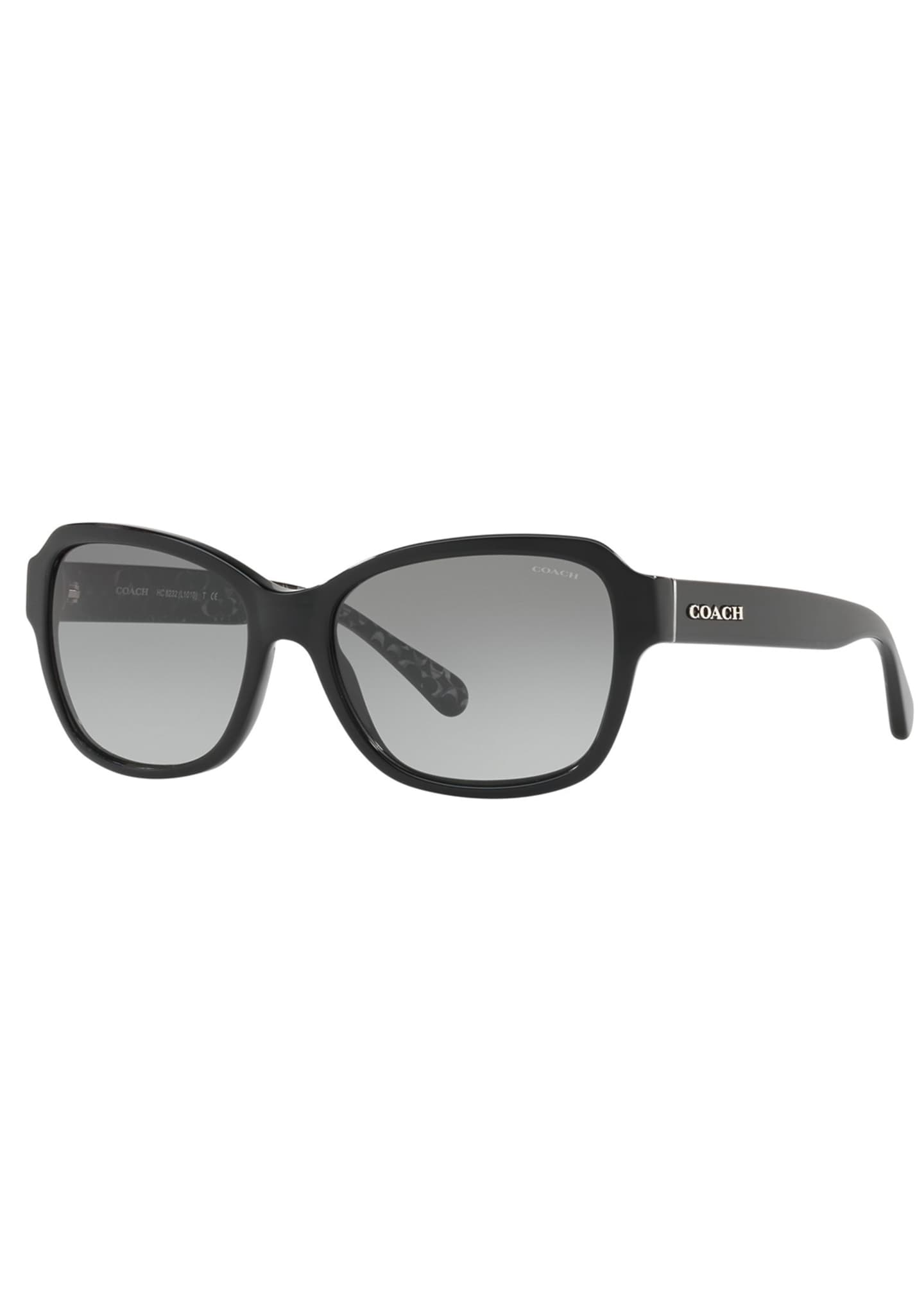 Image 1 of 3: Rectangle Acetate Sunglasses