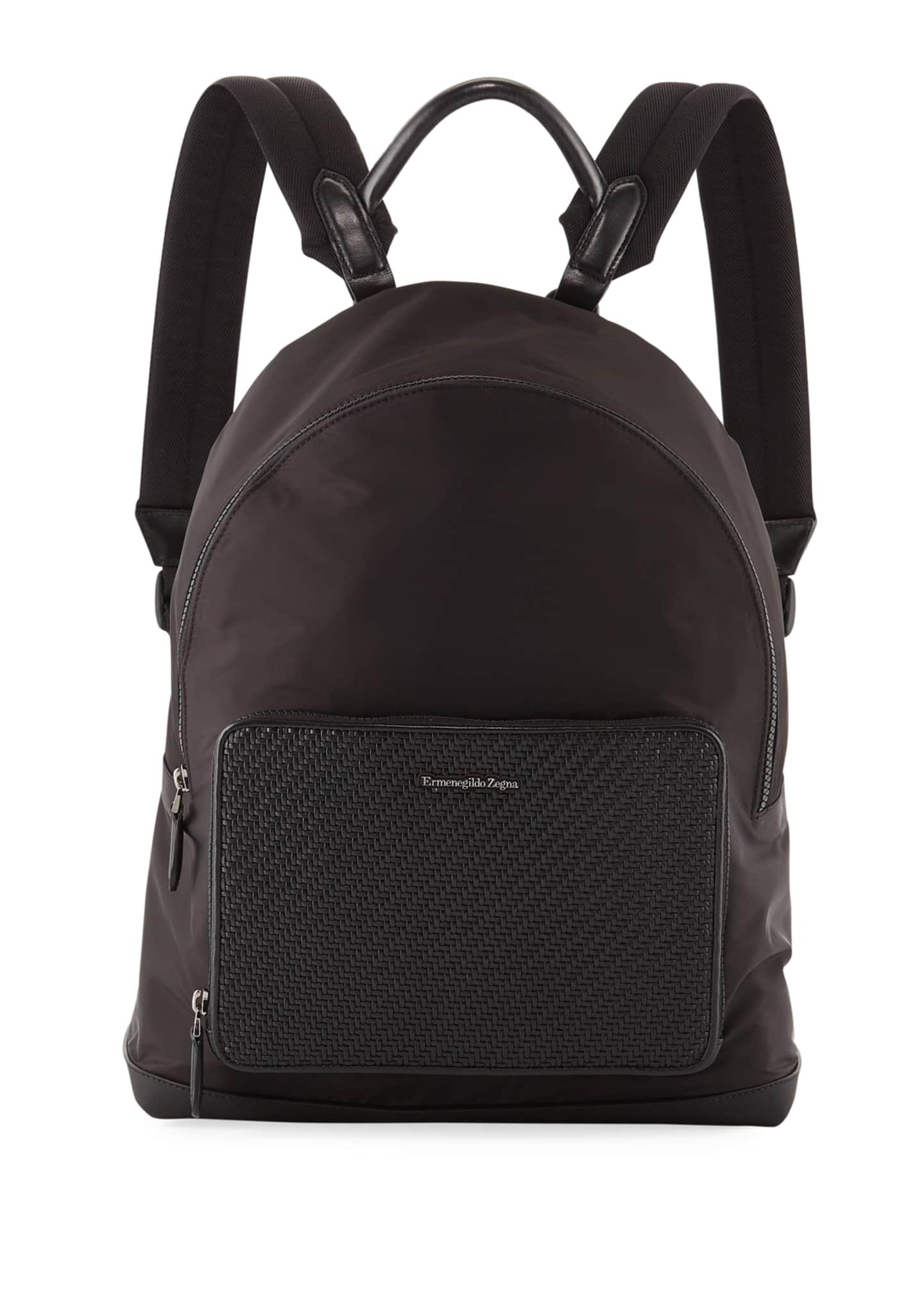 Ermenegildo Zegna Men's Nylon Backpack