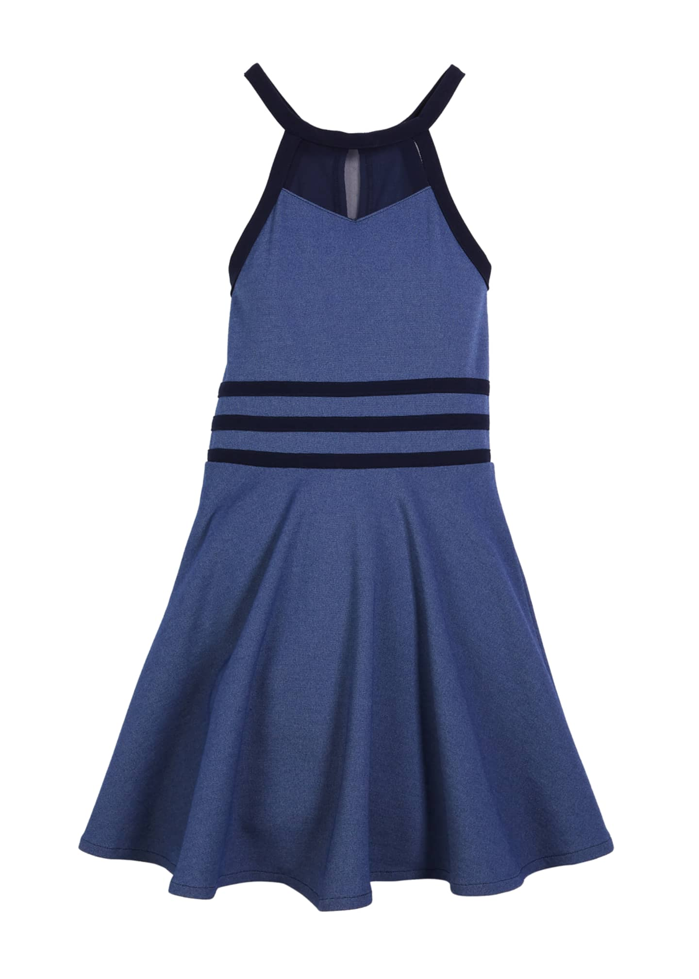Sally Miller The Bella Halter Flare Dress, Size
