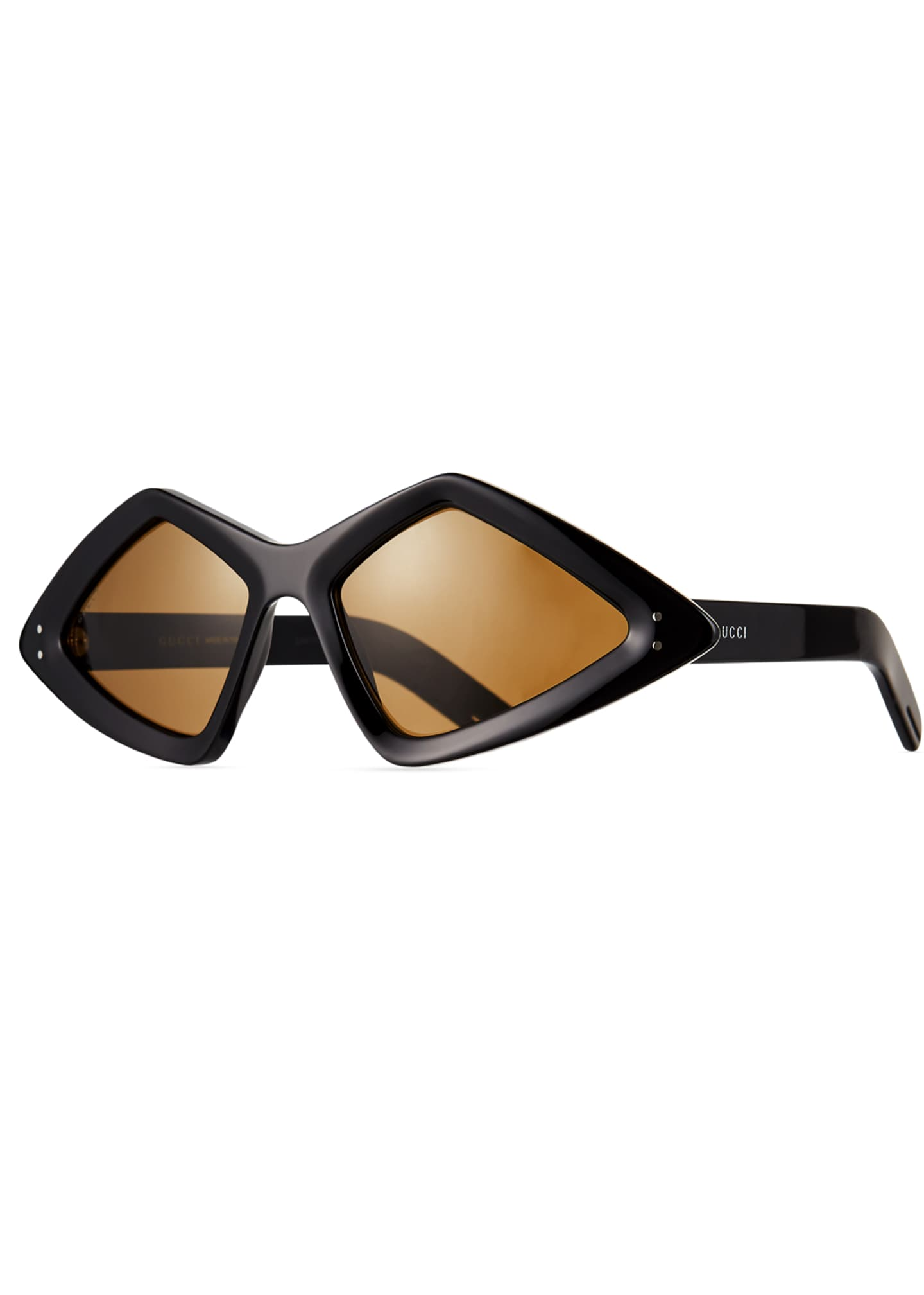 Gucci Men's Geometric Acetate Sunglasses