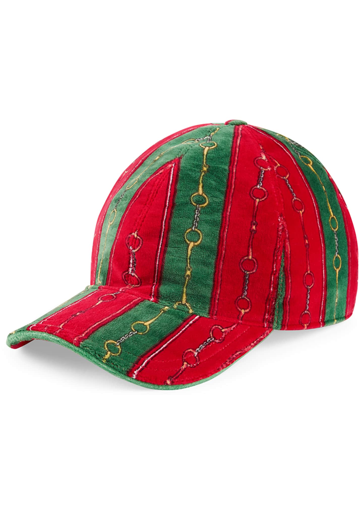 Gucci Men's Printed Chenille Baseball Hat