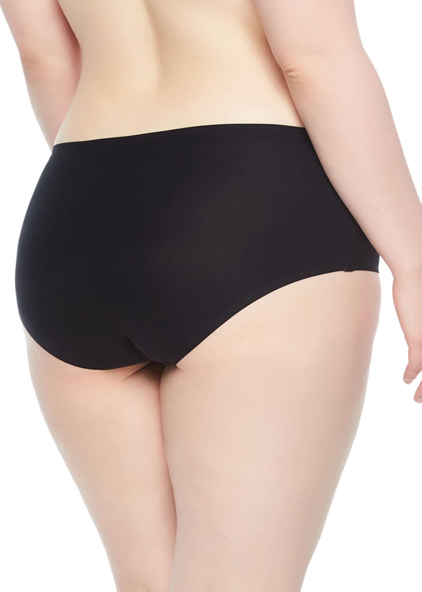 Image 2 of 2: Plus Size Soft Stretch Hipster Briefs