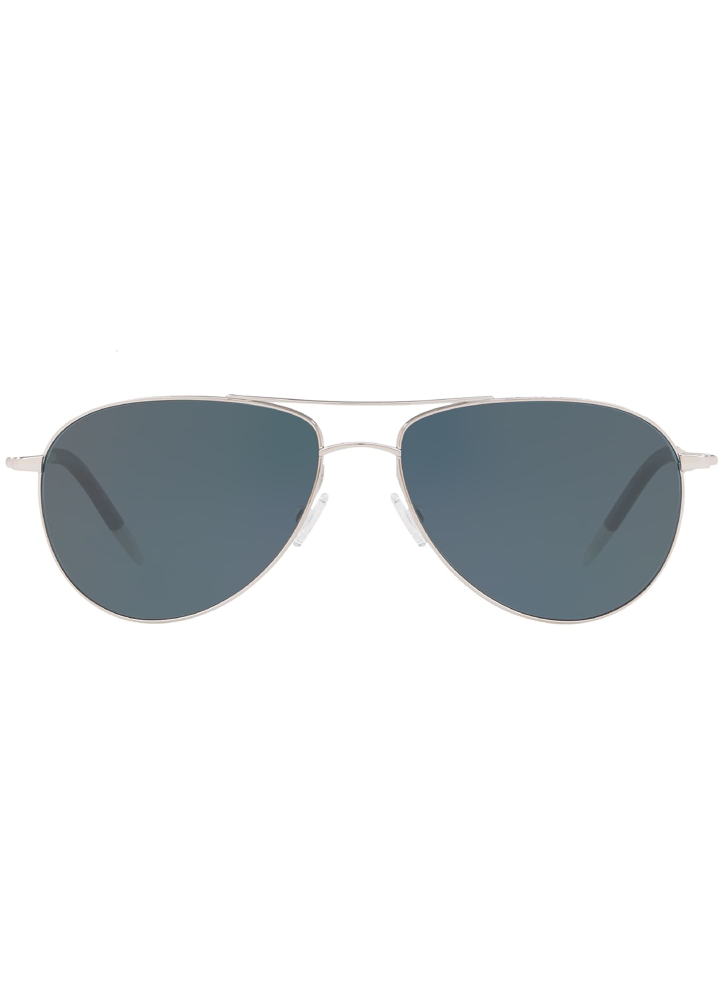 Image 2 of 2: Men's Benedict 59 Aviator Sunglasses - Polarized Lenses