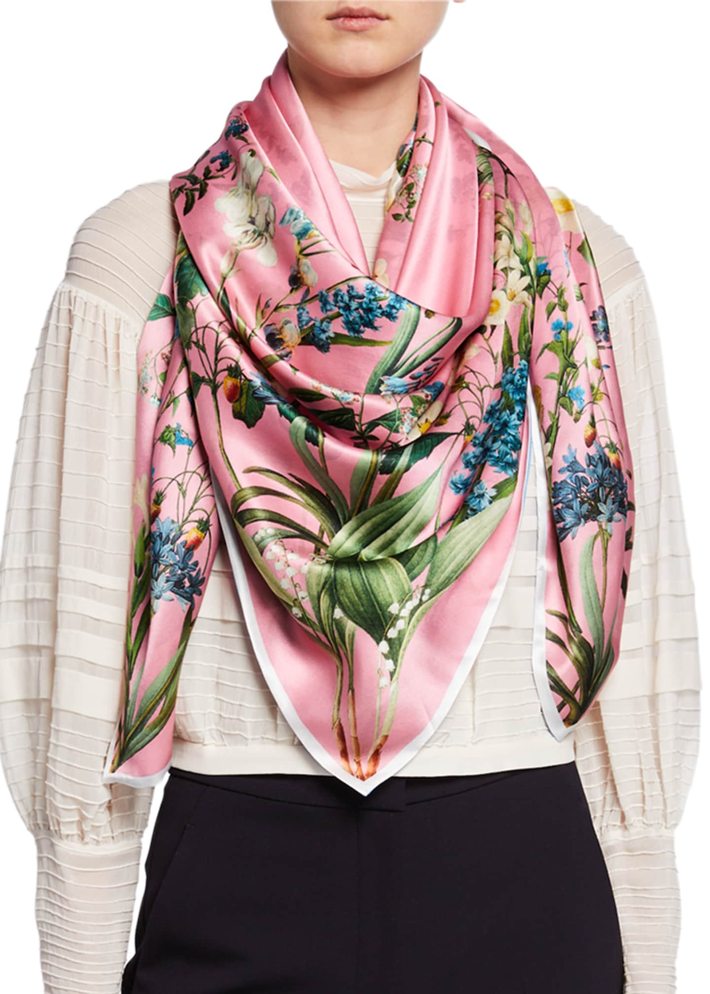 St. Piece Jessica Double Sided Silk Scarf