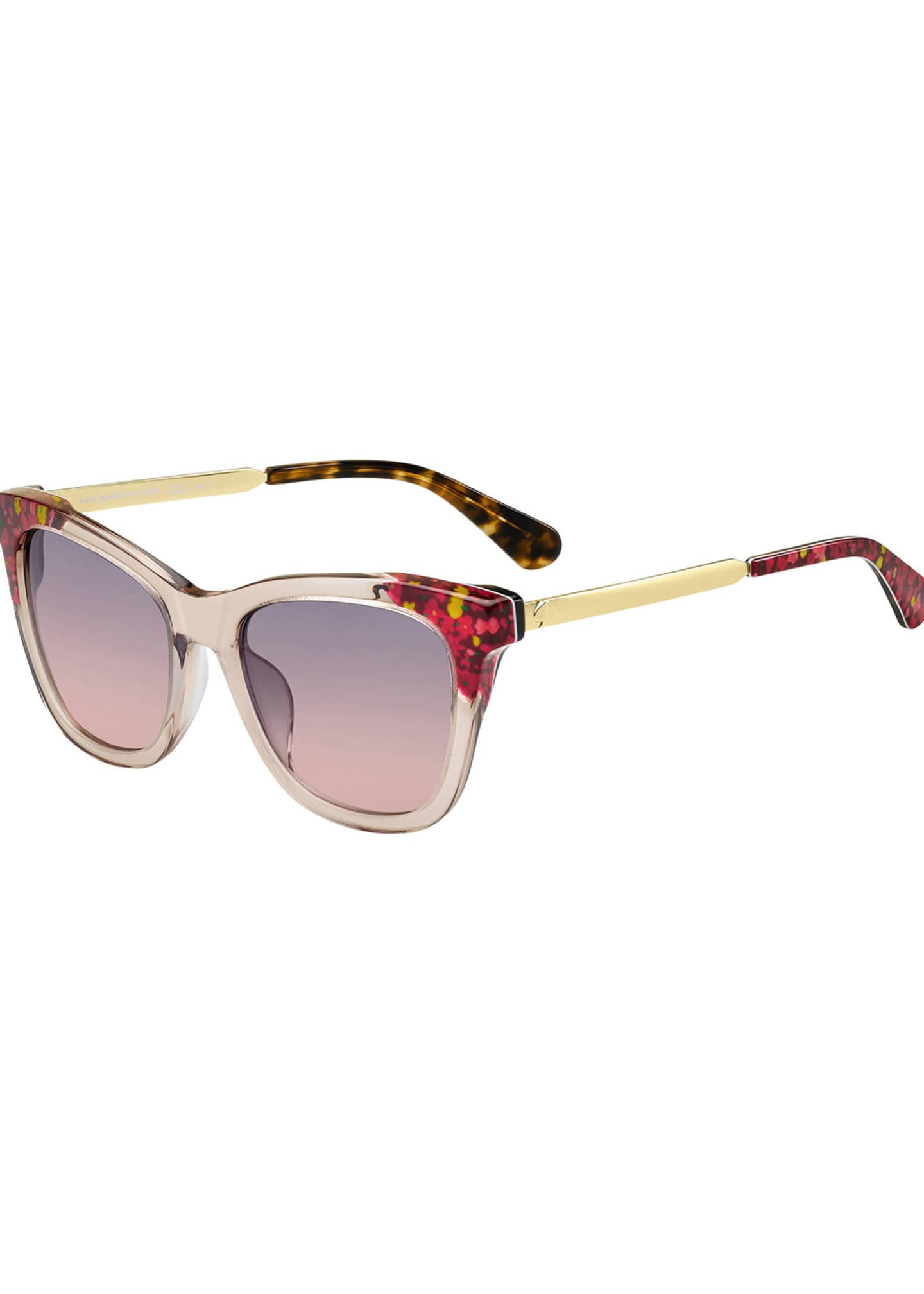kate spade new york alexane rectangle sunglasses