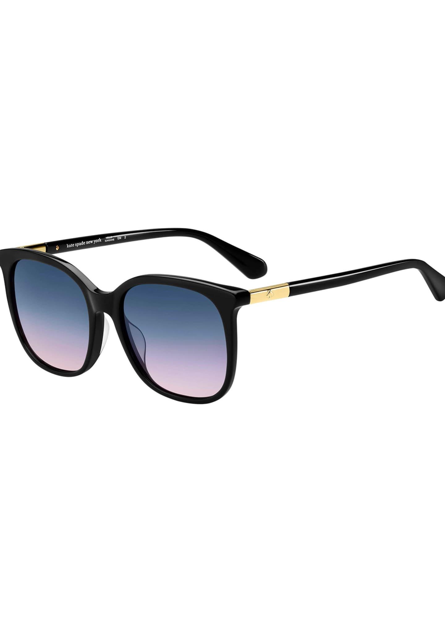 kate spade new york caylins square acetate sunglasses