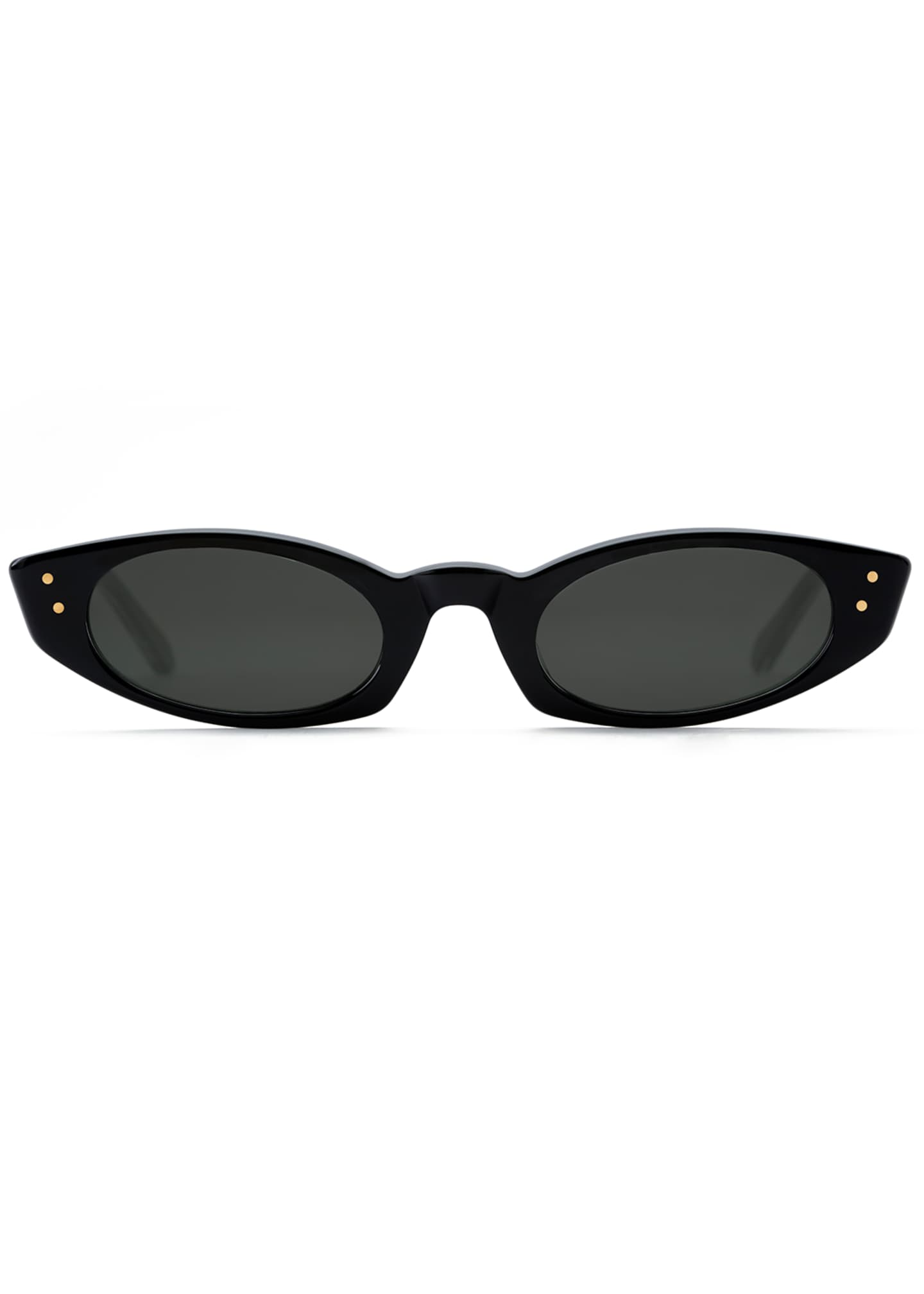 Image 2 of 2: Fern Cat-Eye Sunglasses