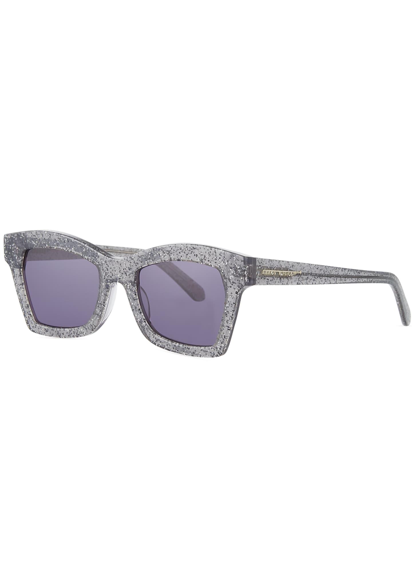 Karen Walker Blessed Cat-Eye Sunglasses