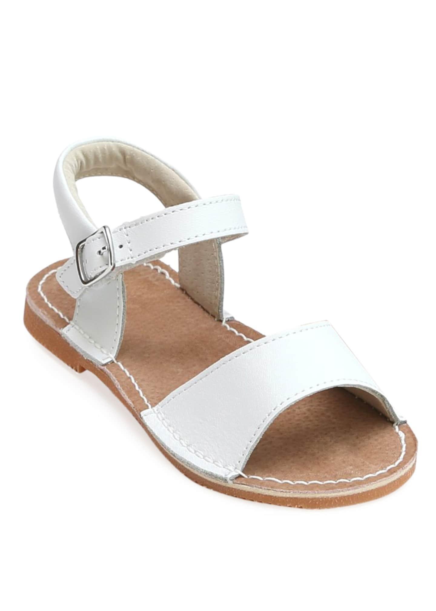L'Amour Shoes Kayla Open Toe Sandals, Kids