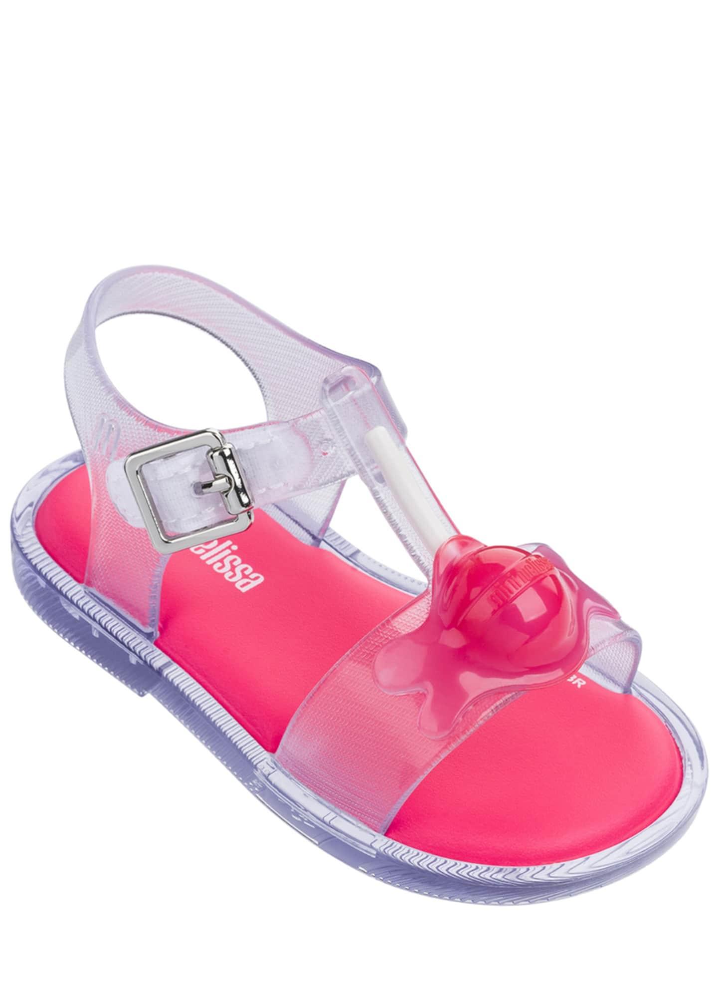 Mini Melissa Mar II Melting Sucker T-Strap Sandal,