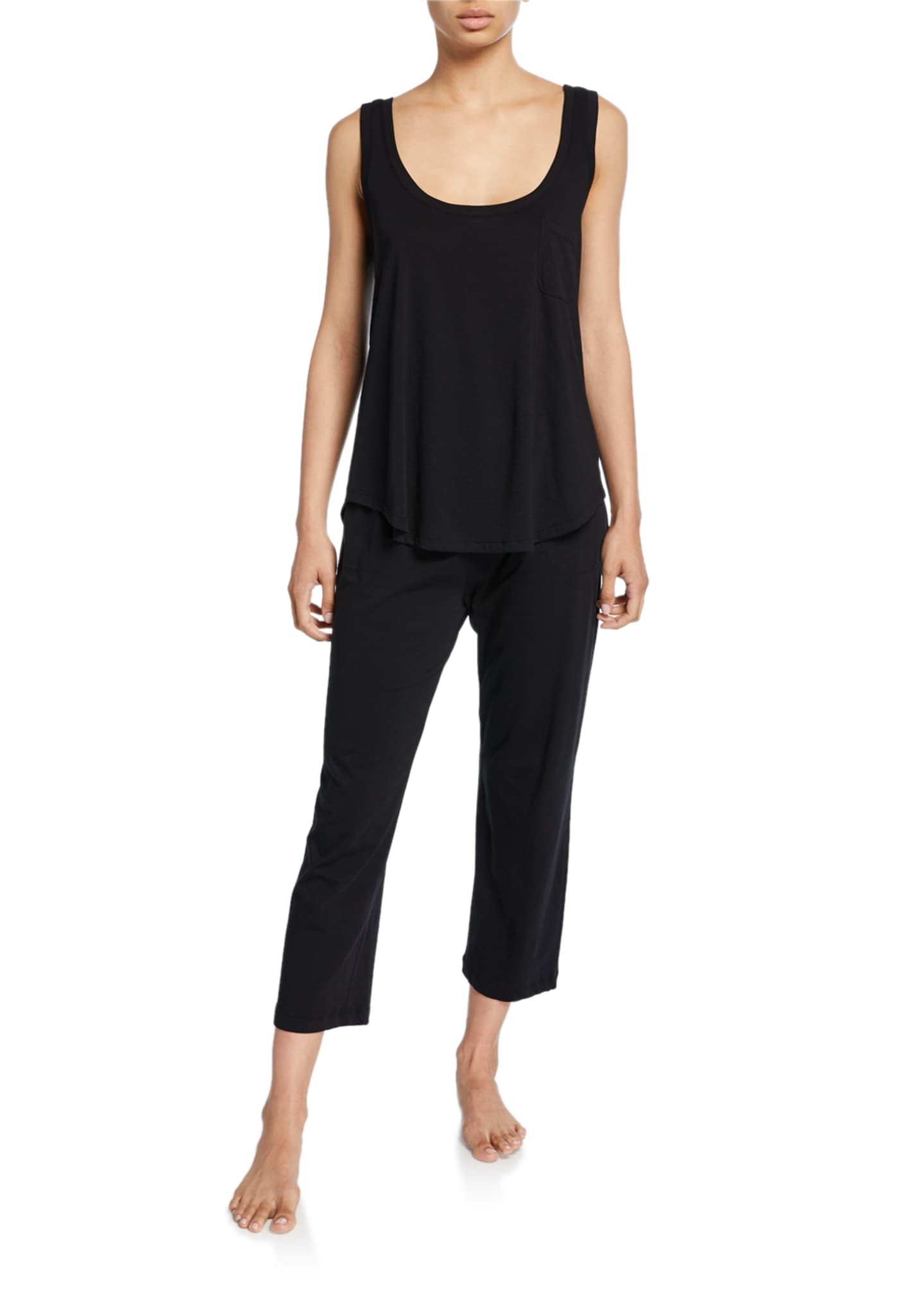 Image 3 of 3: Oaklie Jersey Crop Pants