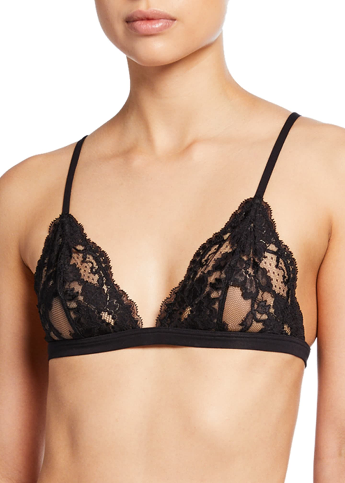 Image 1 of 2: Souple Lace Triangle Bra