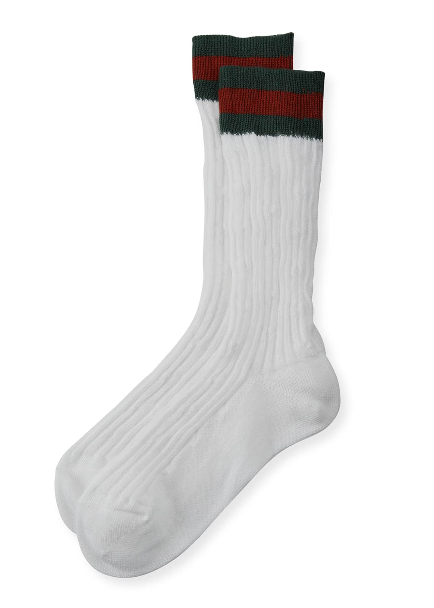 Gucci Children's Knit Socks, Size 2-10