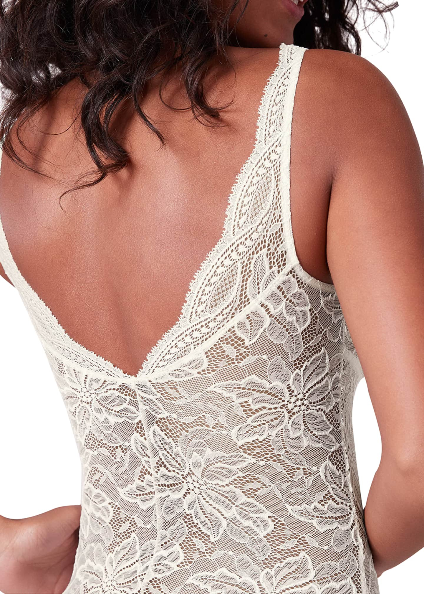 Image 2 of 2: Eden Lace Bodysuit