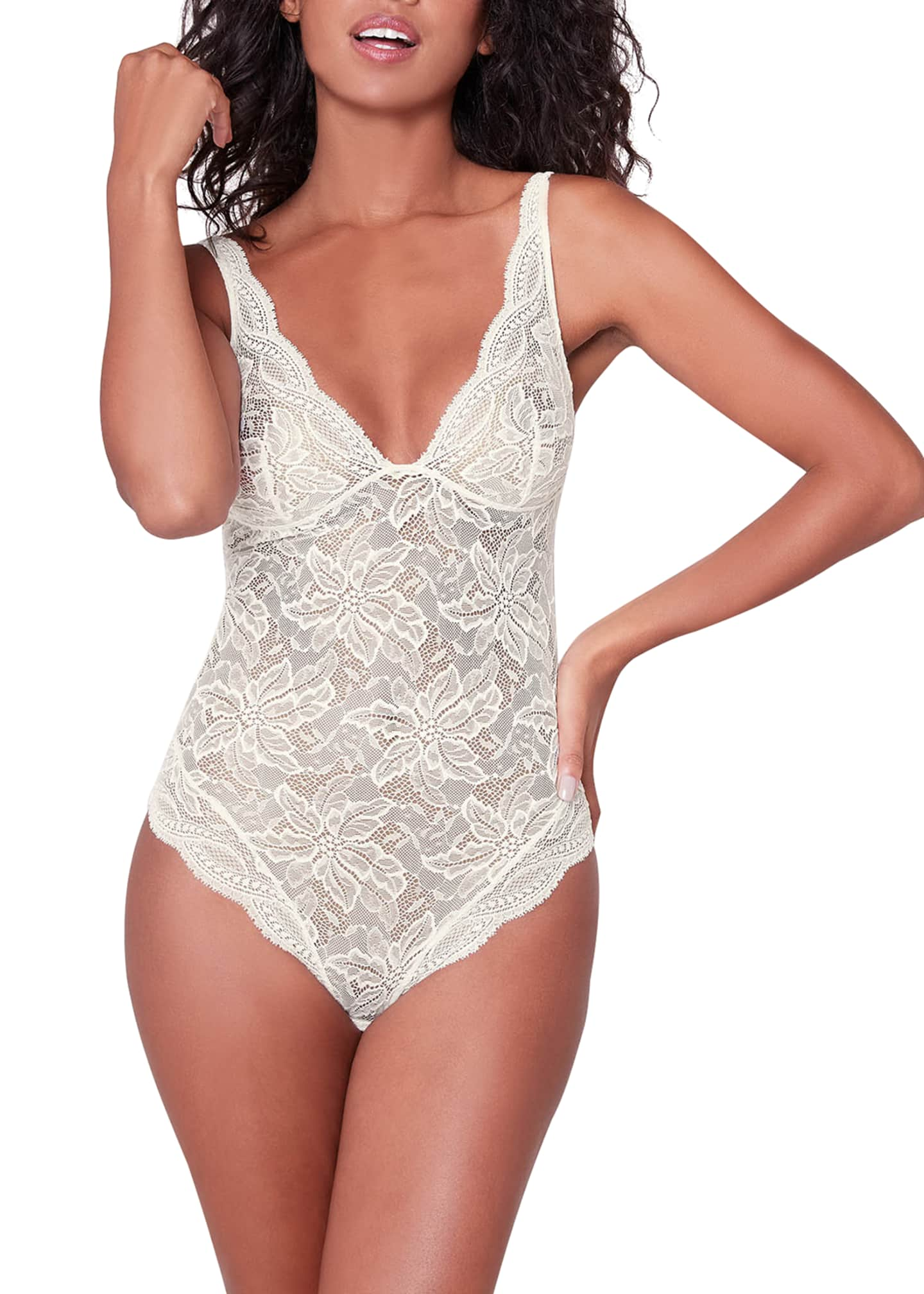 Image 1 of 2: Eden Lace Bodysuit