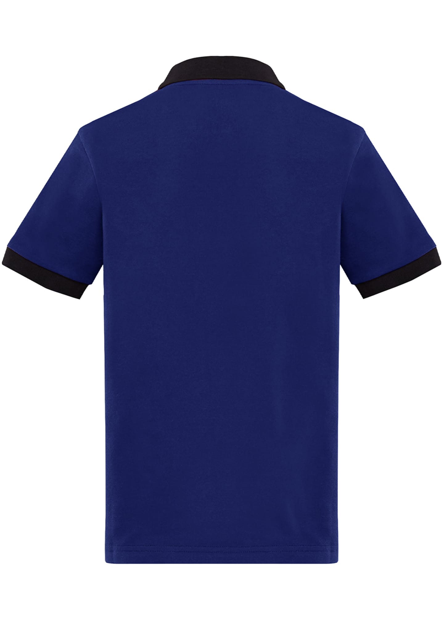 Image 2 of 2: Contrast-Trim Polo Shirt, Size 8-14