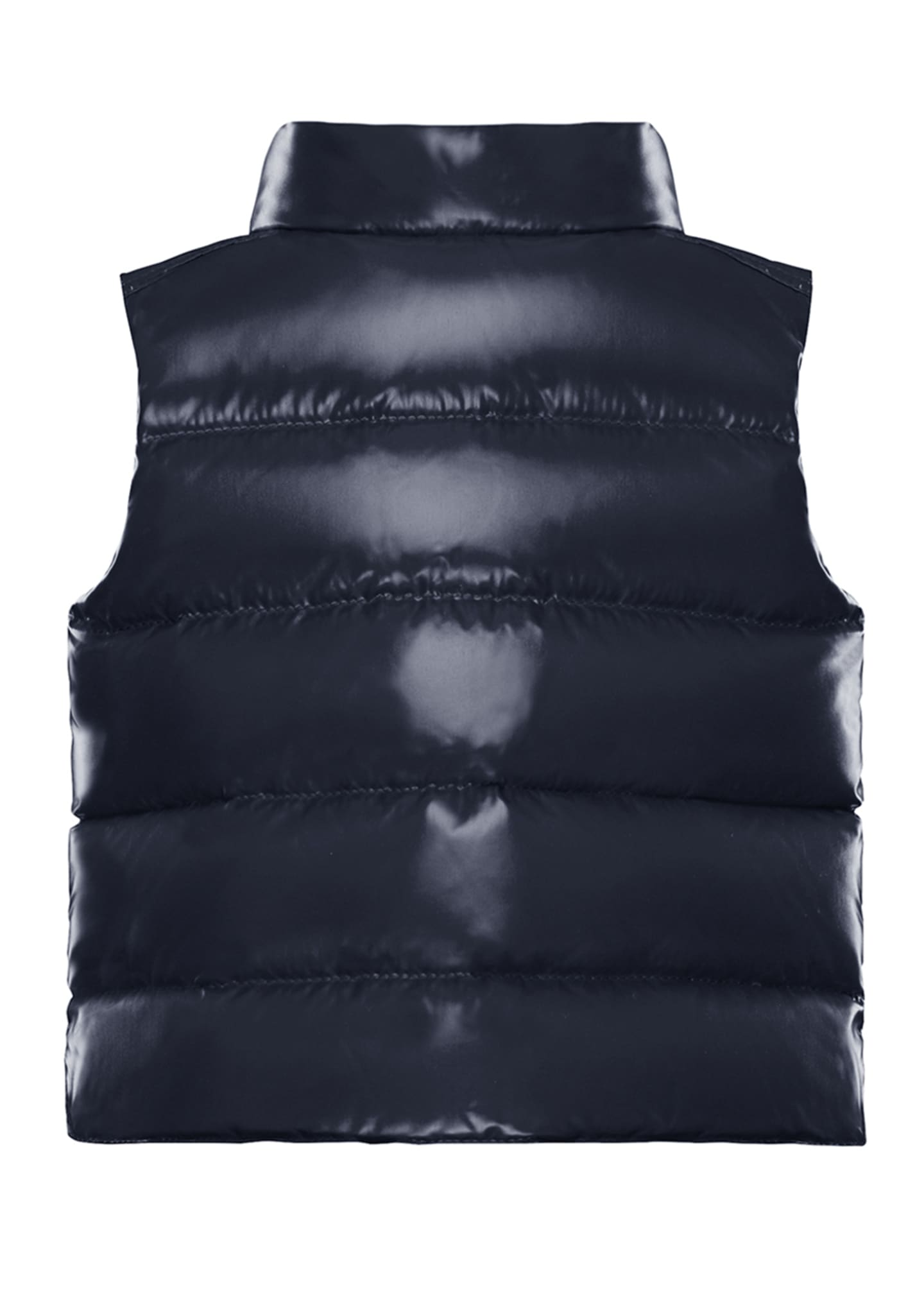 Image 2 of 2: Bernard Quilted Snap-Front Vest, Size 12M-3