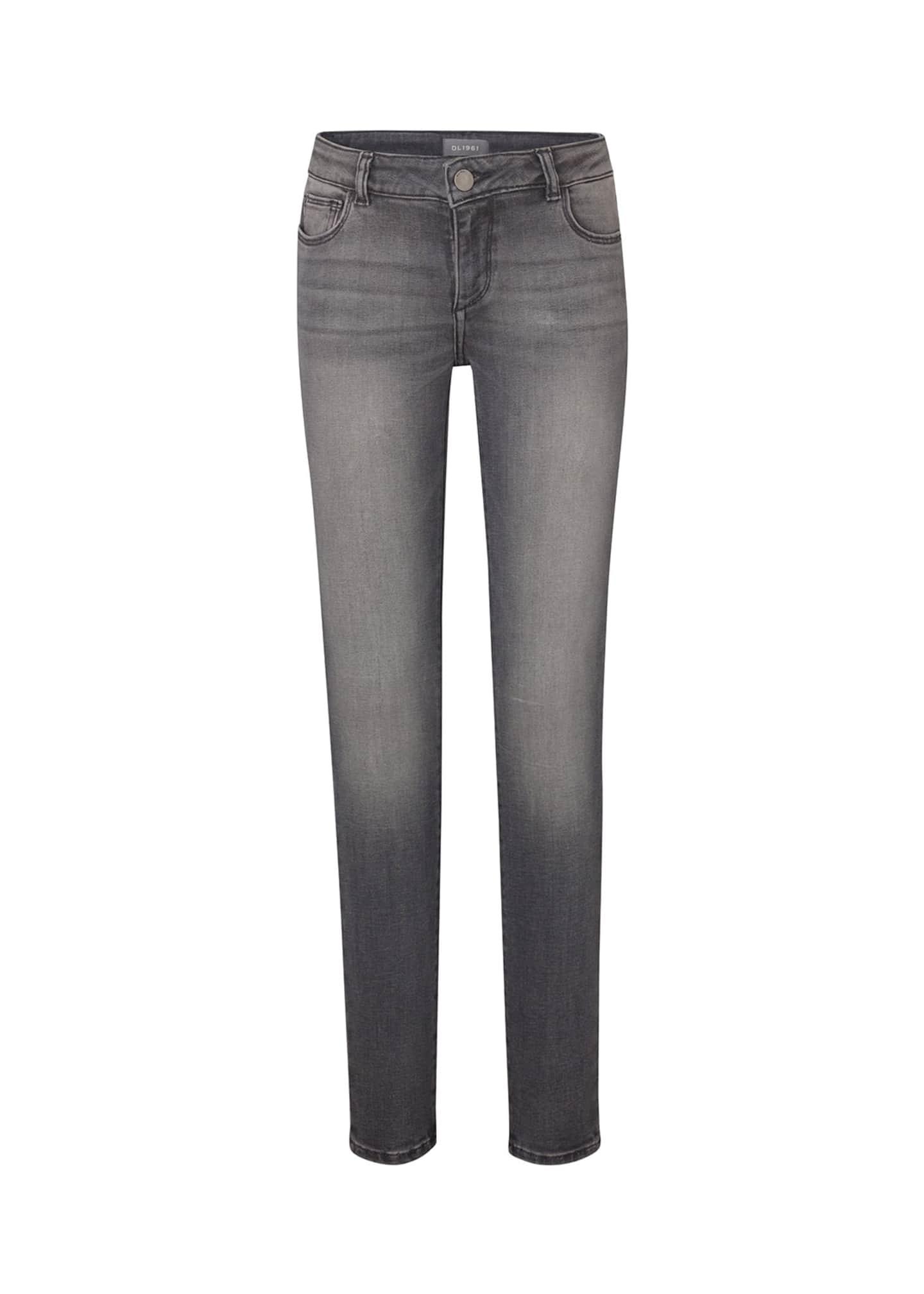 DL 1961 Girl's Chloe Denim Skinny Jeans, Size