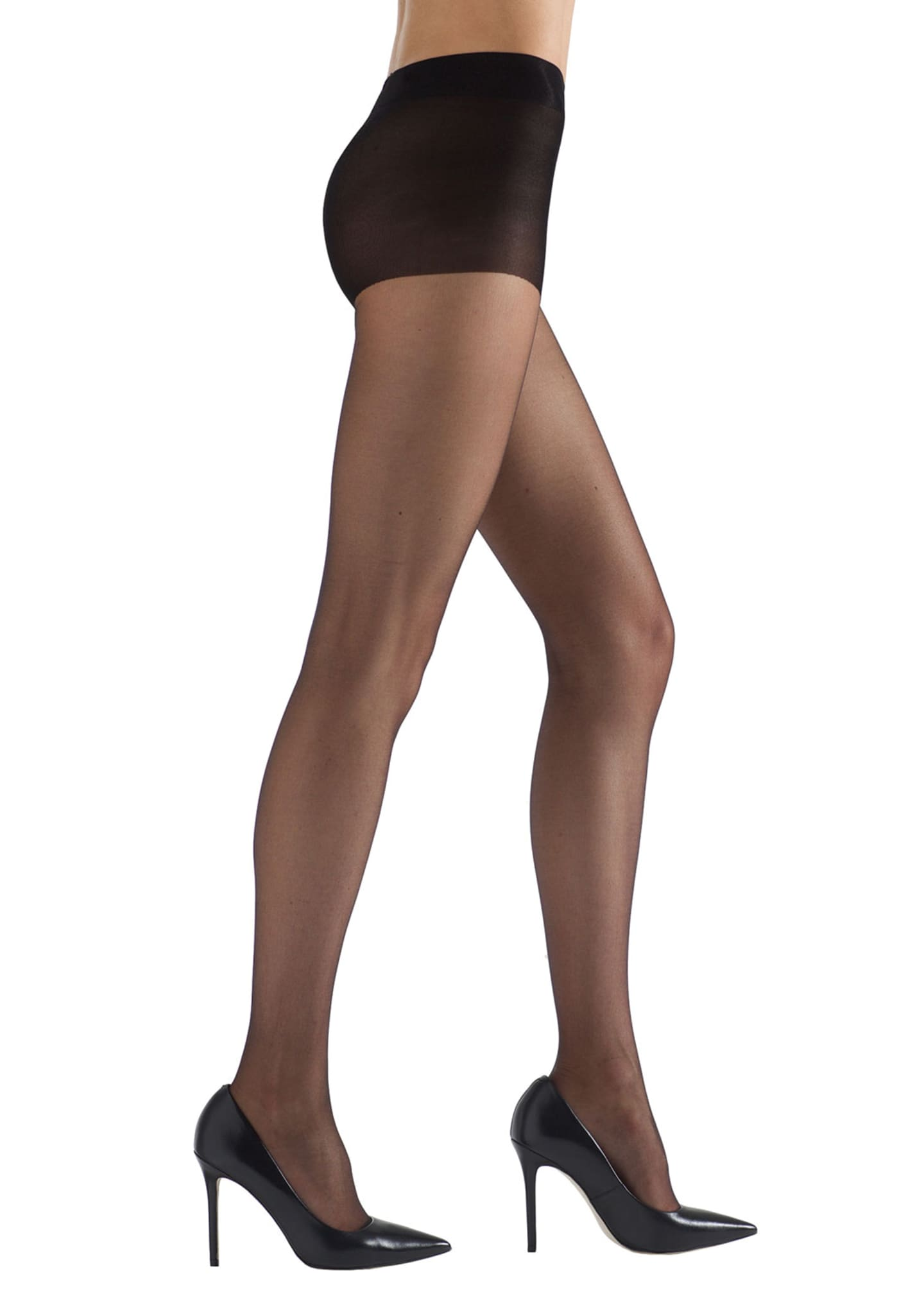Natori 2-Pack Ultra Bare Sheer Control Top Tights