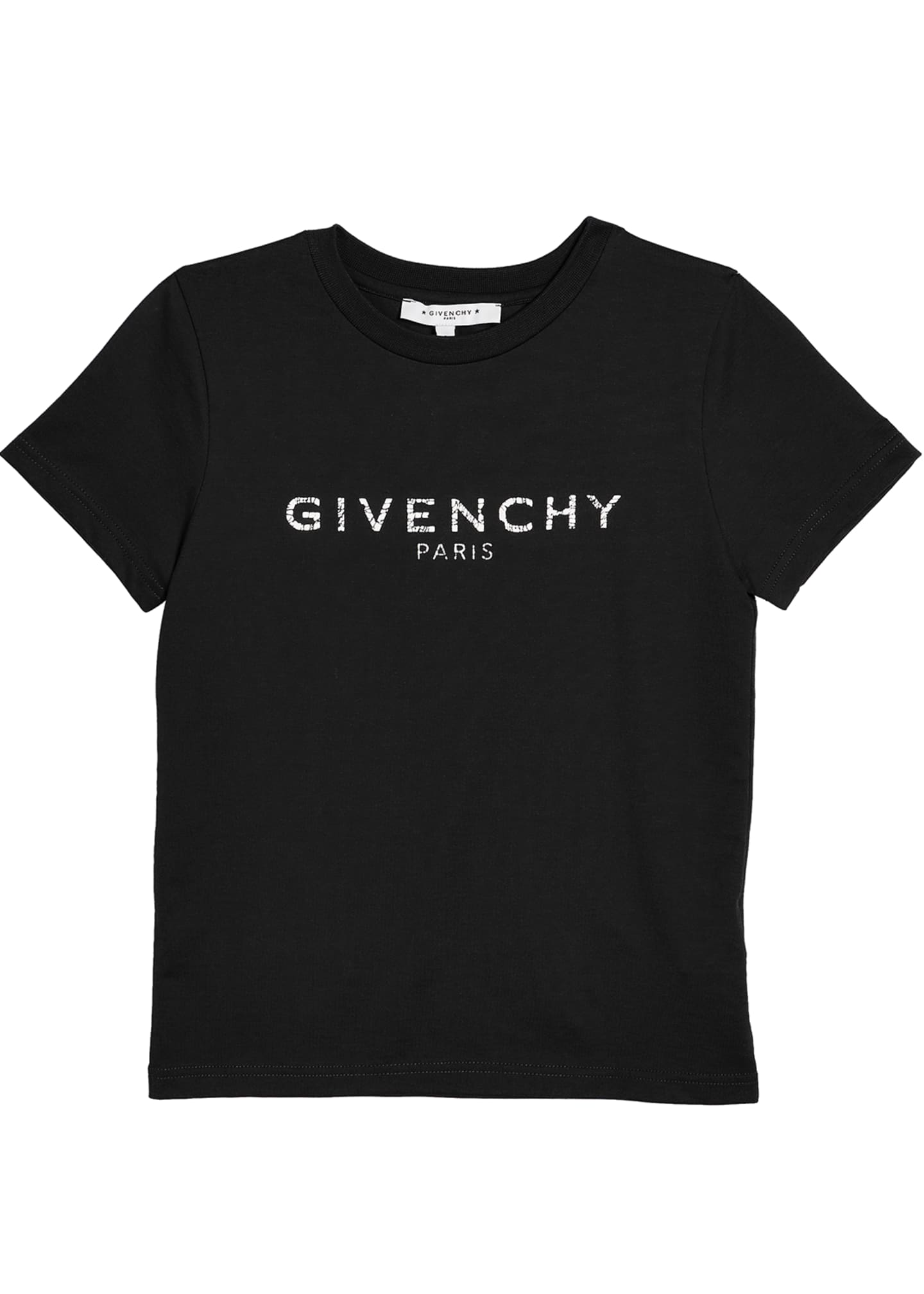 Givenchy Boy's Short-Sleeve Logo Tee, Size 4-10