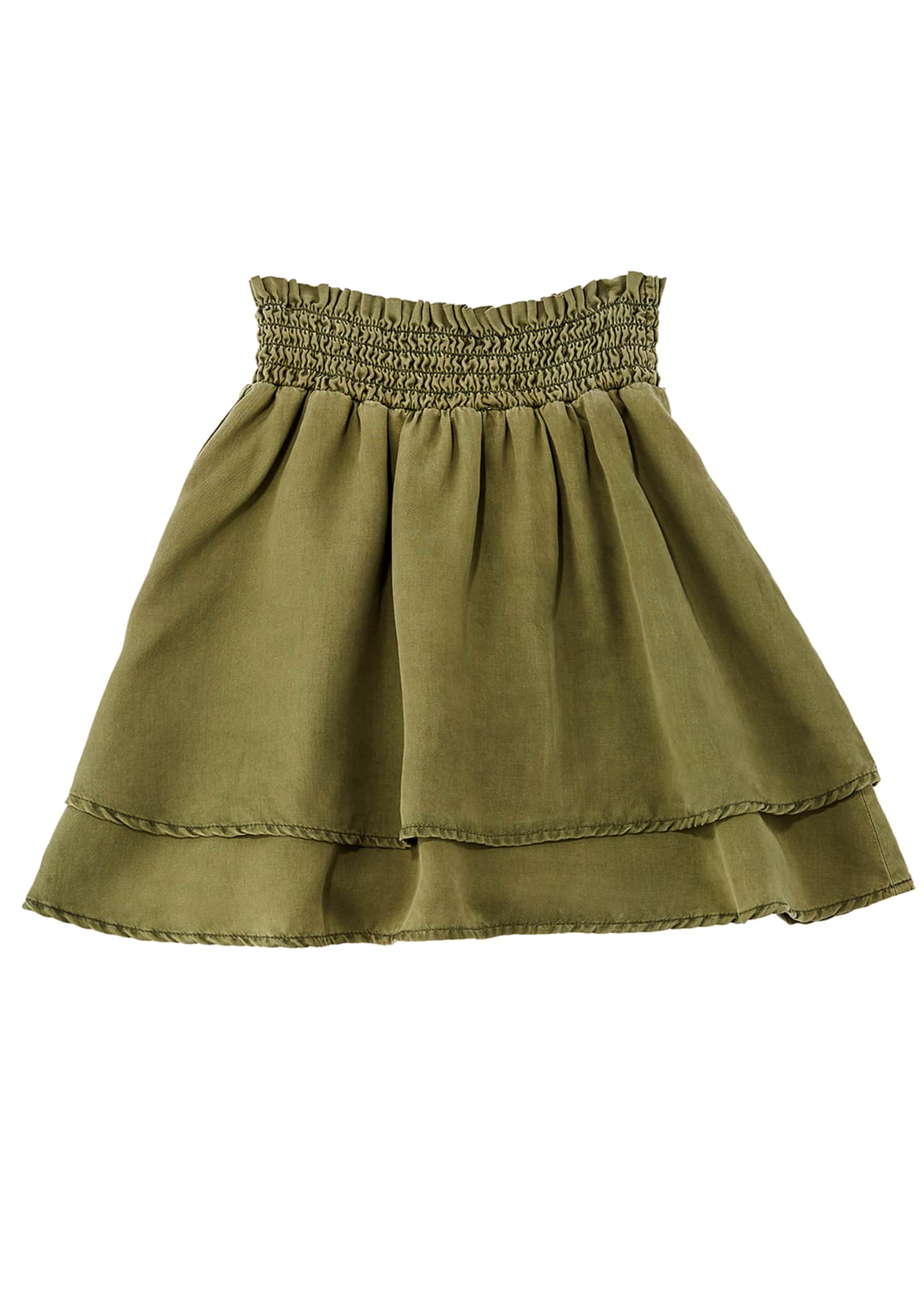 Image 1 of 1: Double Layer Flared Skirt, Size 8-14