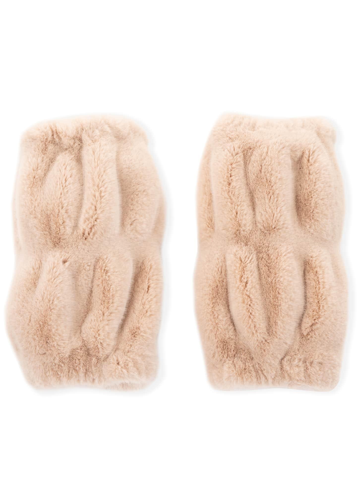 Fabulous Furs Kid's Couture Faux-Fur Leg Warmers