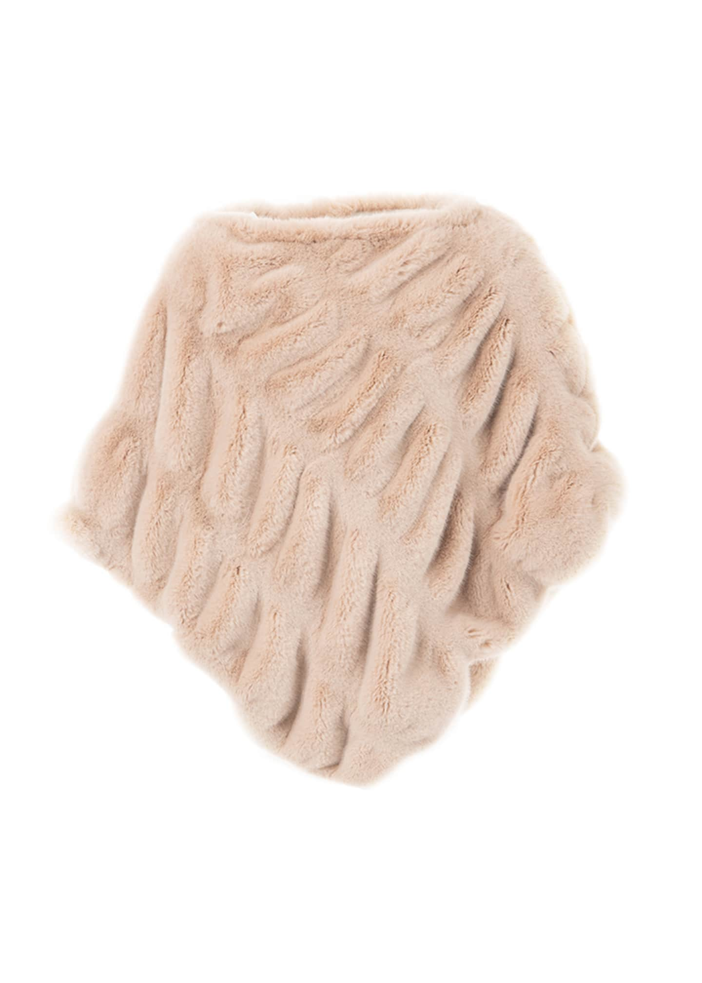 Fabulous Furs Kid's Couture Faux-Fur Poncho