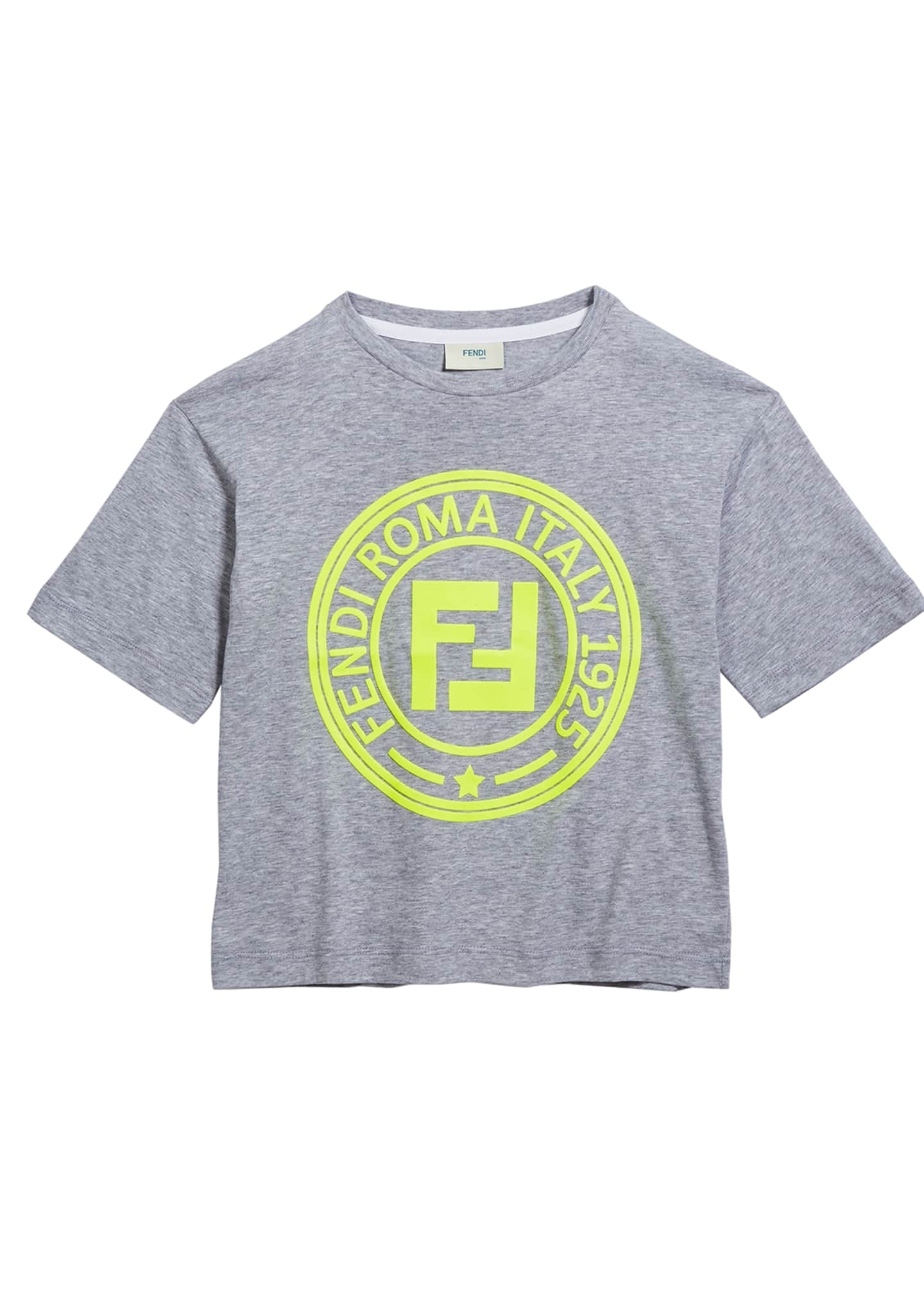 Fendi Boy's Logo T-Shirt, Size 4-8