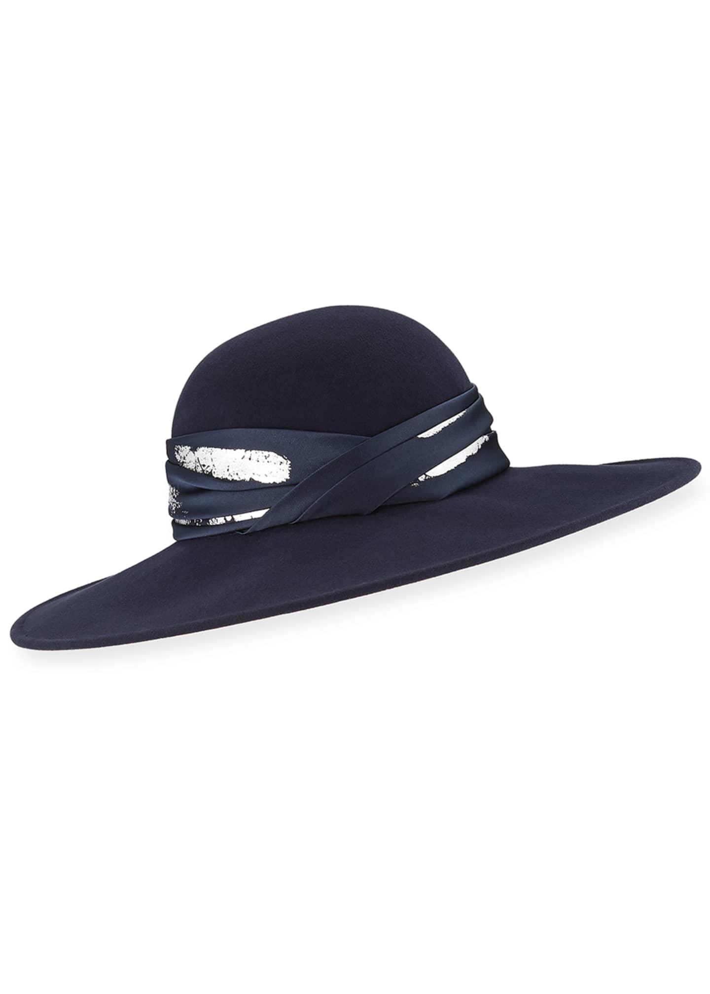 Eugenia Kim Honey Large Brim Hat w/ Imitation