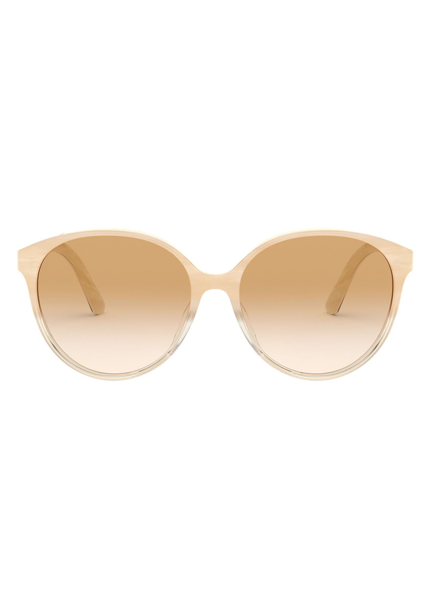 Image 2 of 2: Brooktree Oval Acetate Sunglasses