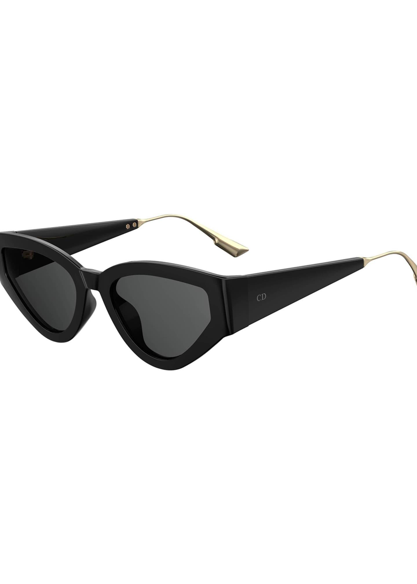 CatStyleDior1 Cat-Eye Sunglasses