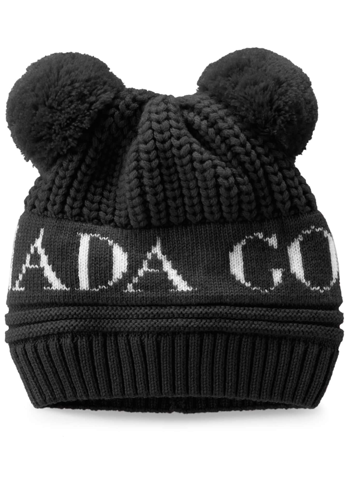Canada Goose Double Pompom Beanie Hat, Baby